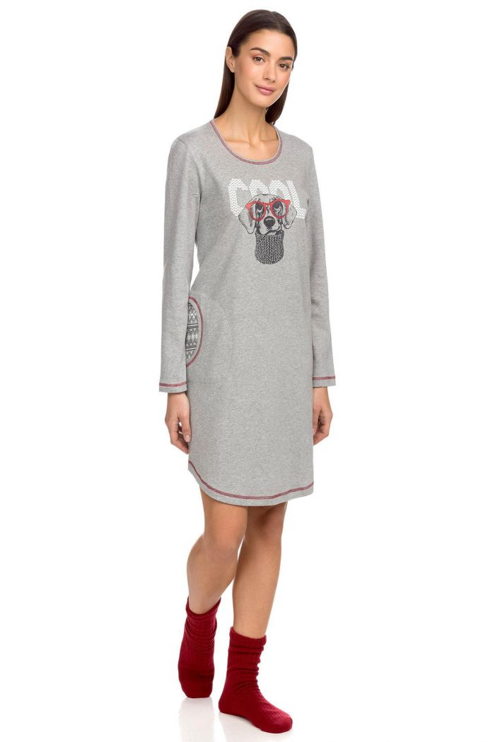 Women's Nightgown with pockets
