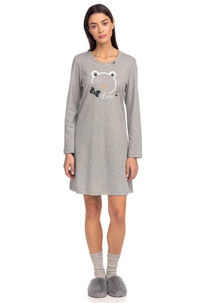 Women's Nightgown with artwork