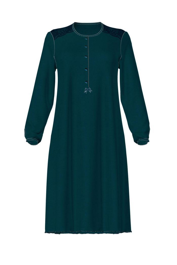 Women's Nightgown with Lace Details