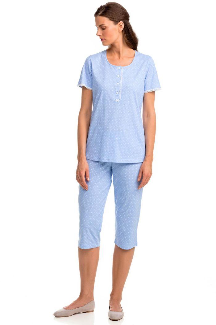 Women's Pyjamas with Button Placket