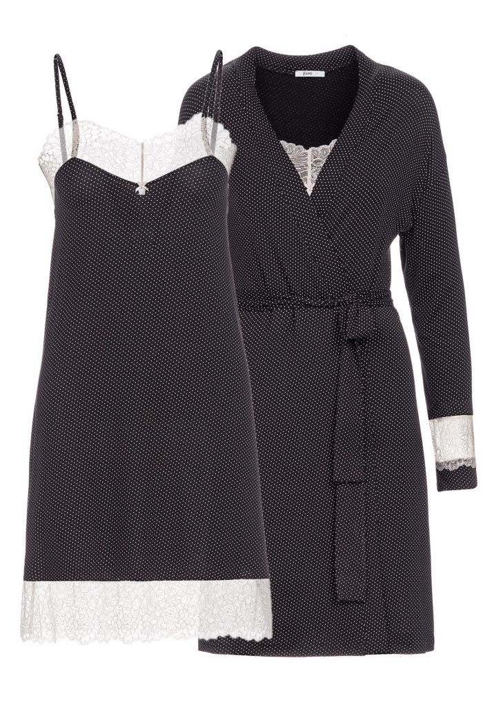 Women's Nightgown and Robe