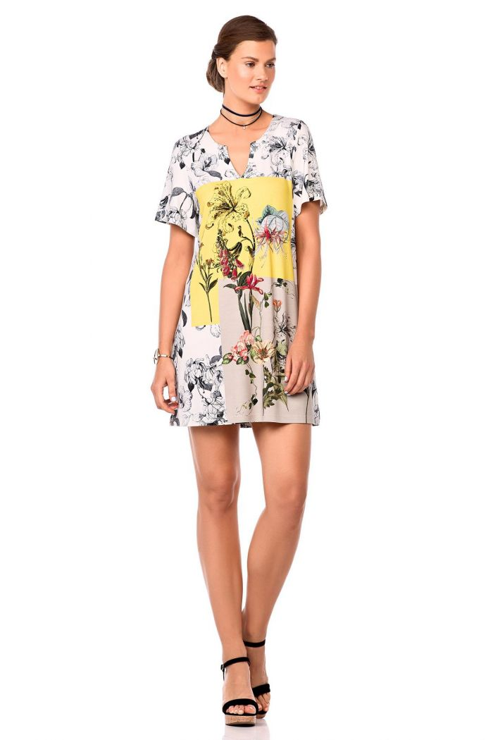 Abstract Canvas Dress