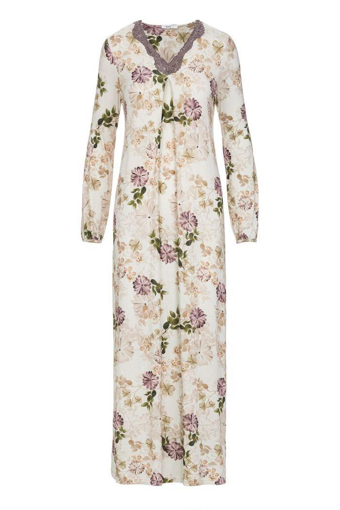Women's Floral Maxi Nightgown