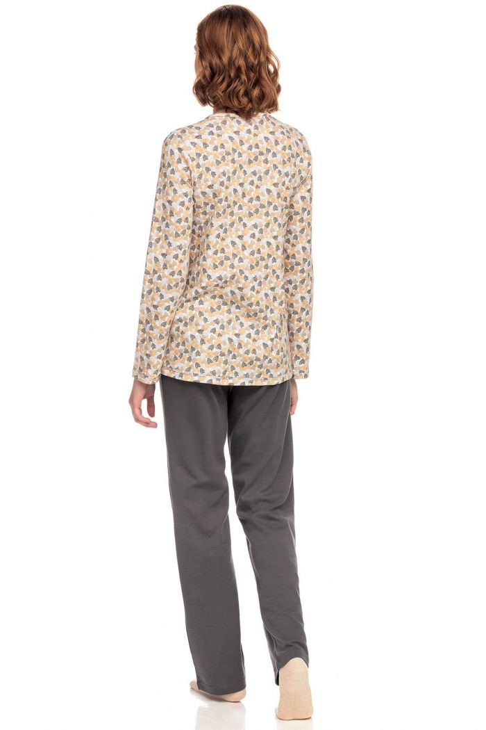 Women's Cotton buttoned Pyjamas