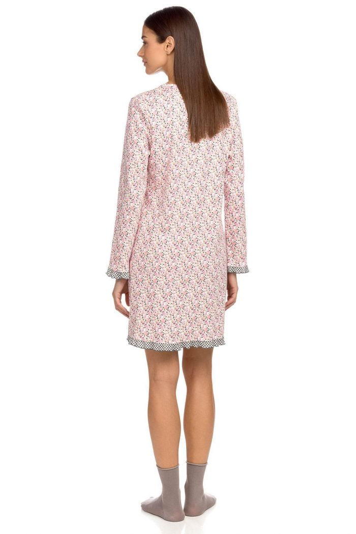 Women's Nightgown with button placket