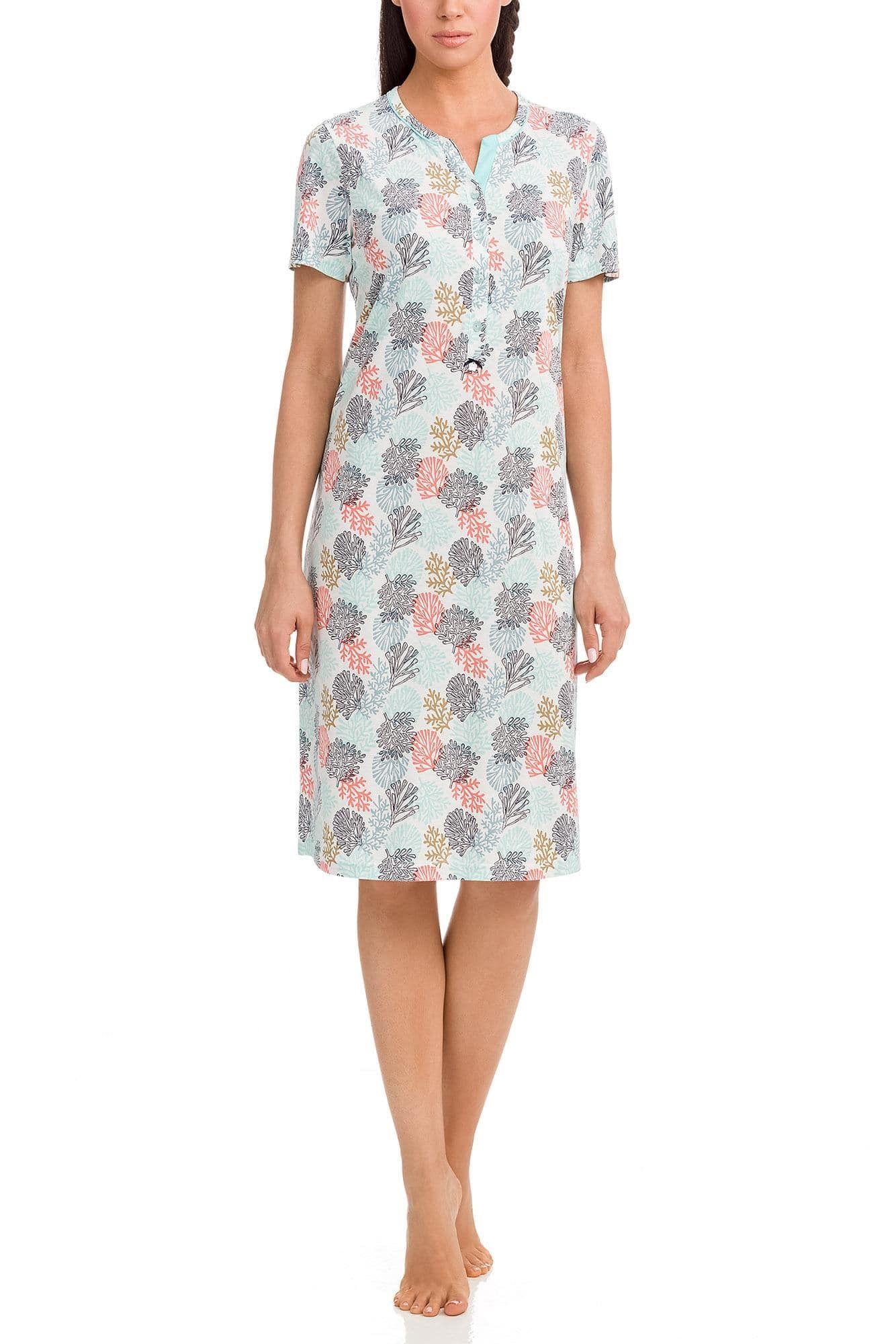 Women's Print Nightgown