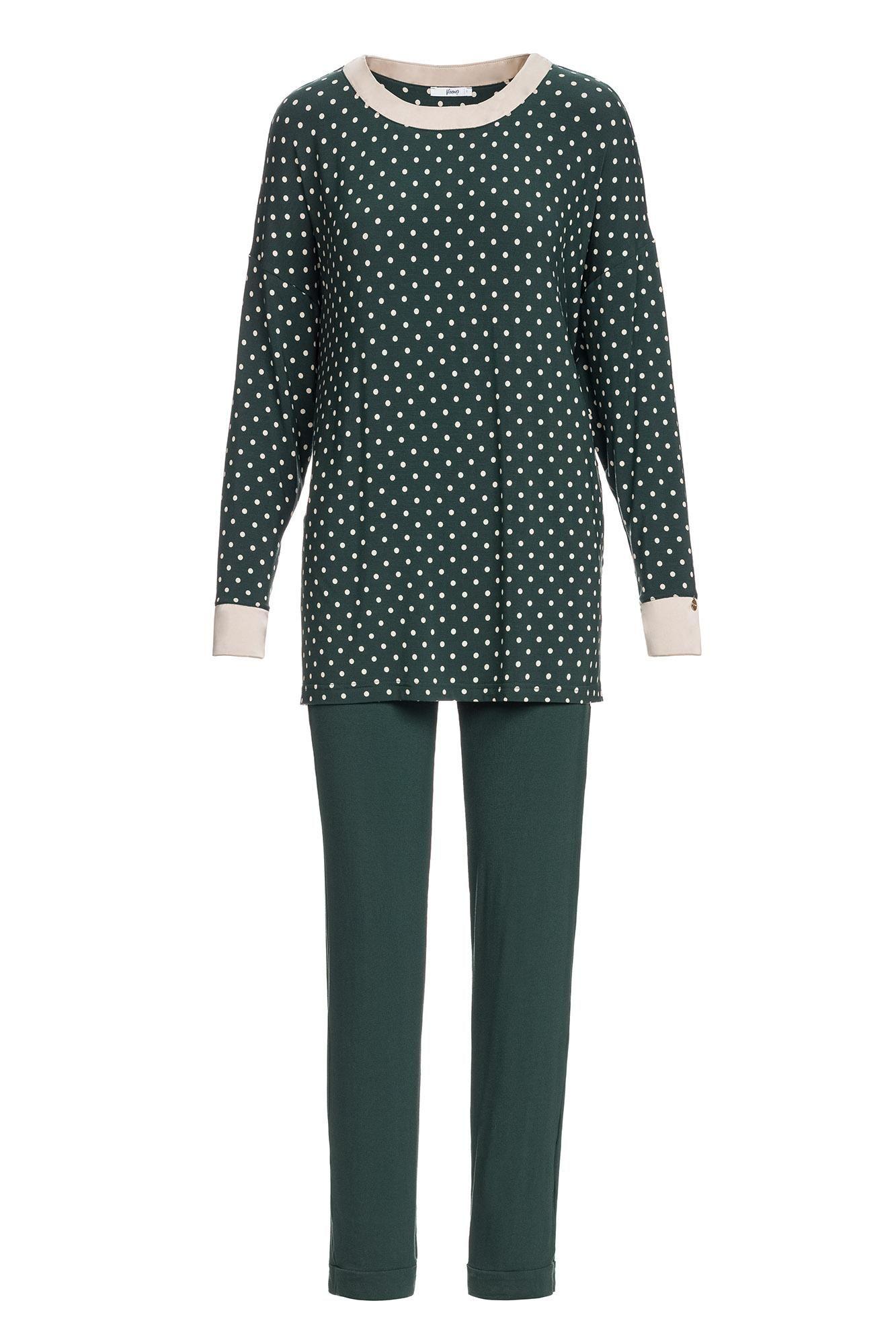 Women's Polka Dot Pyjamas Plus Size