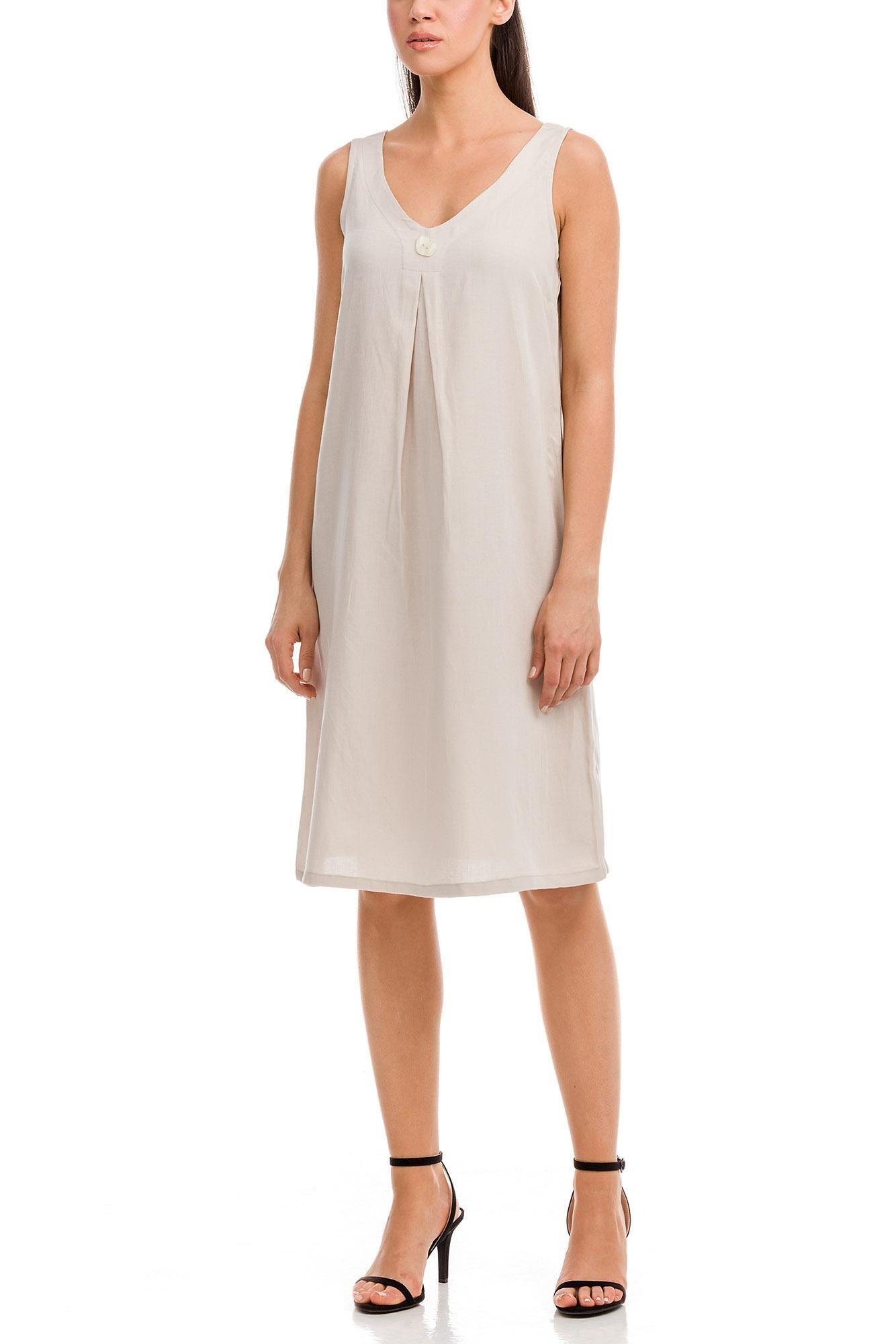 Linen Dress Plus Size