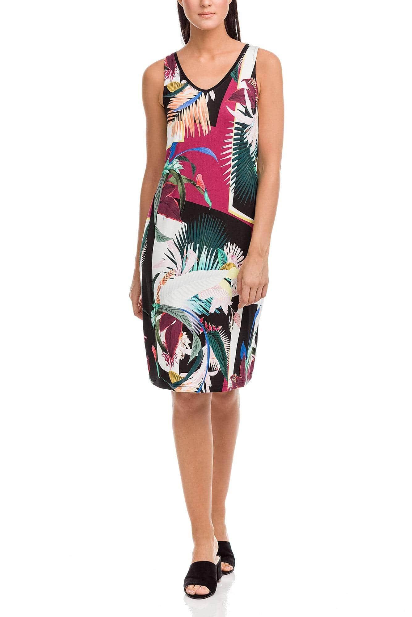 Printed Dress Plus Size