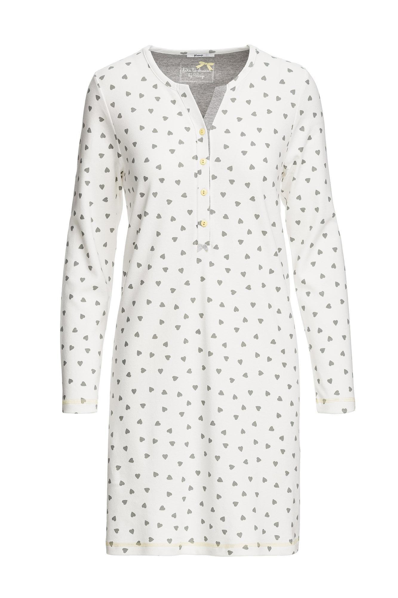 Women's Patterned Nursing Nightgown Plus Size