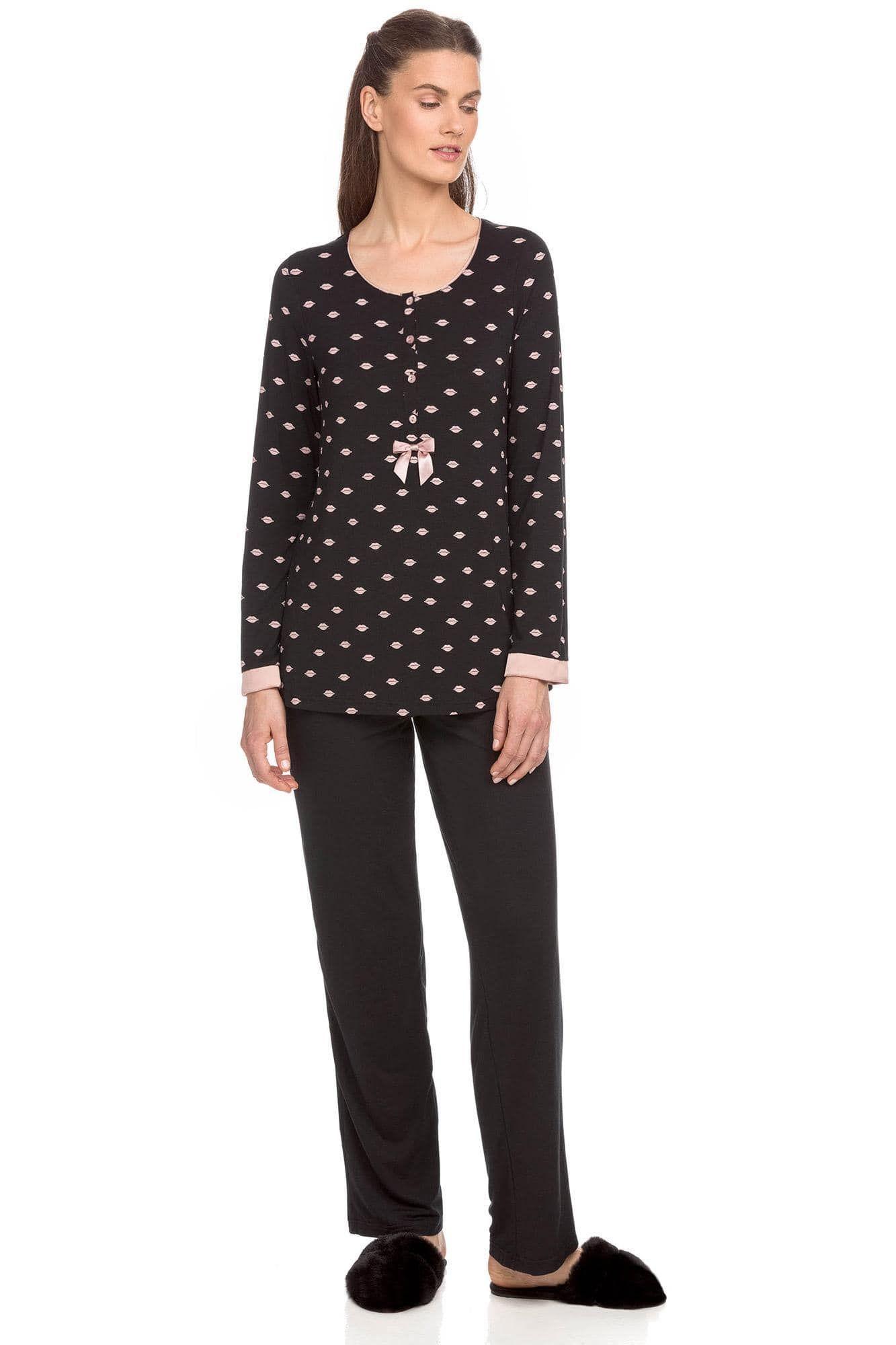 Women Pyjamas with button placket