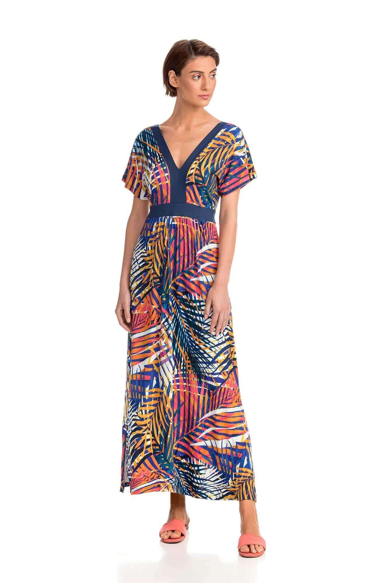 Tropical Μάξι Φόρεμα