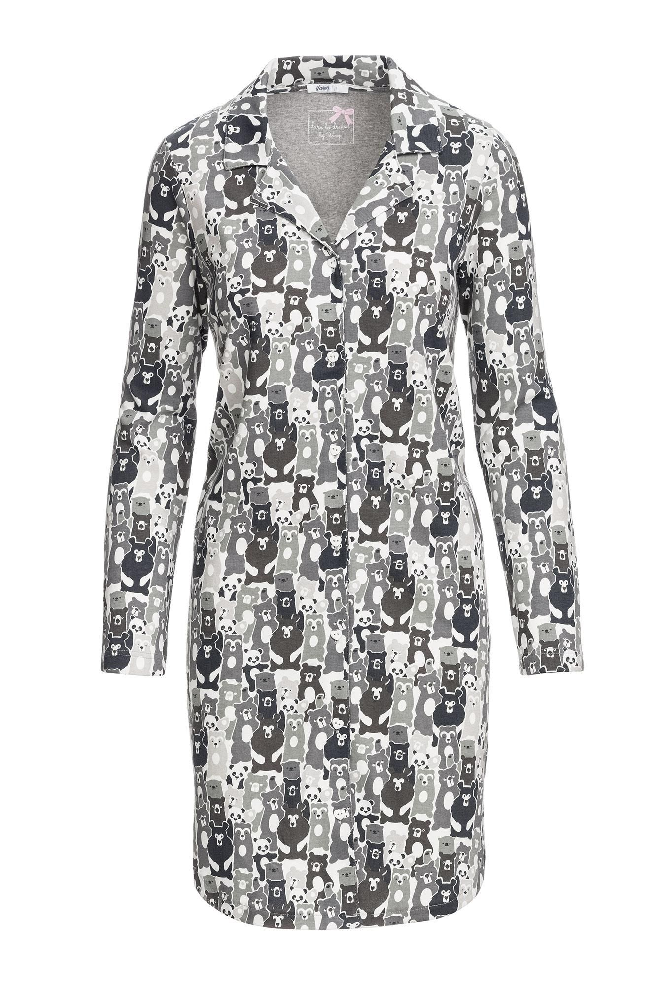 Women's Buttoned Nightgown
