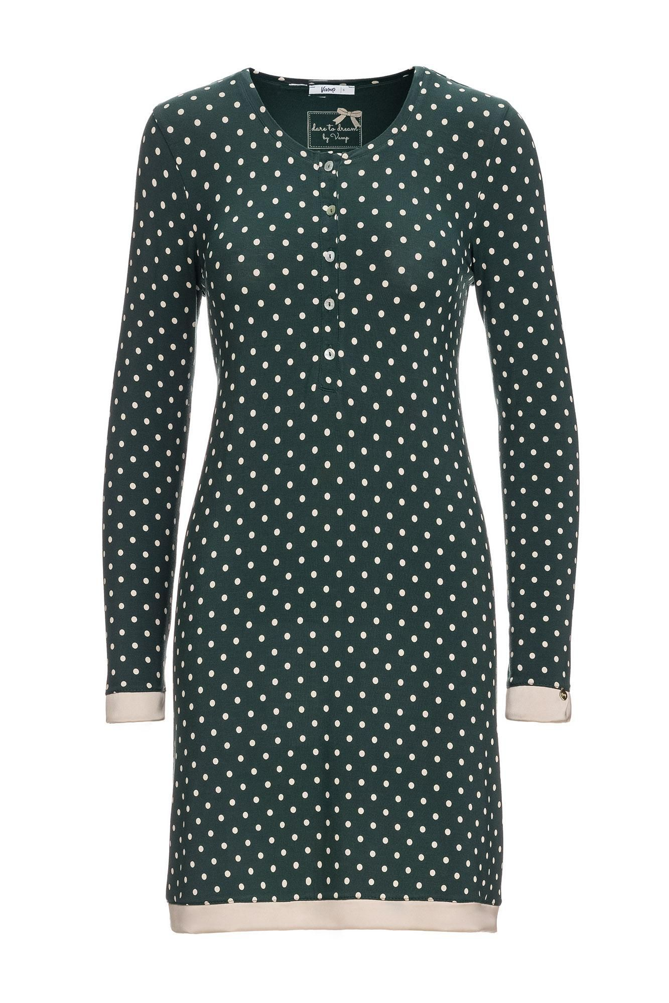 Women's Polka Dot Nursing Nightgown Plus Size