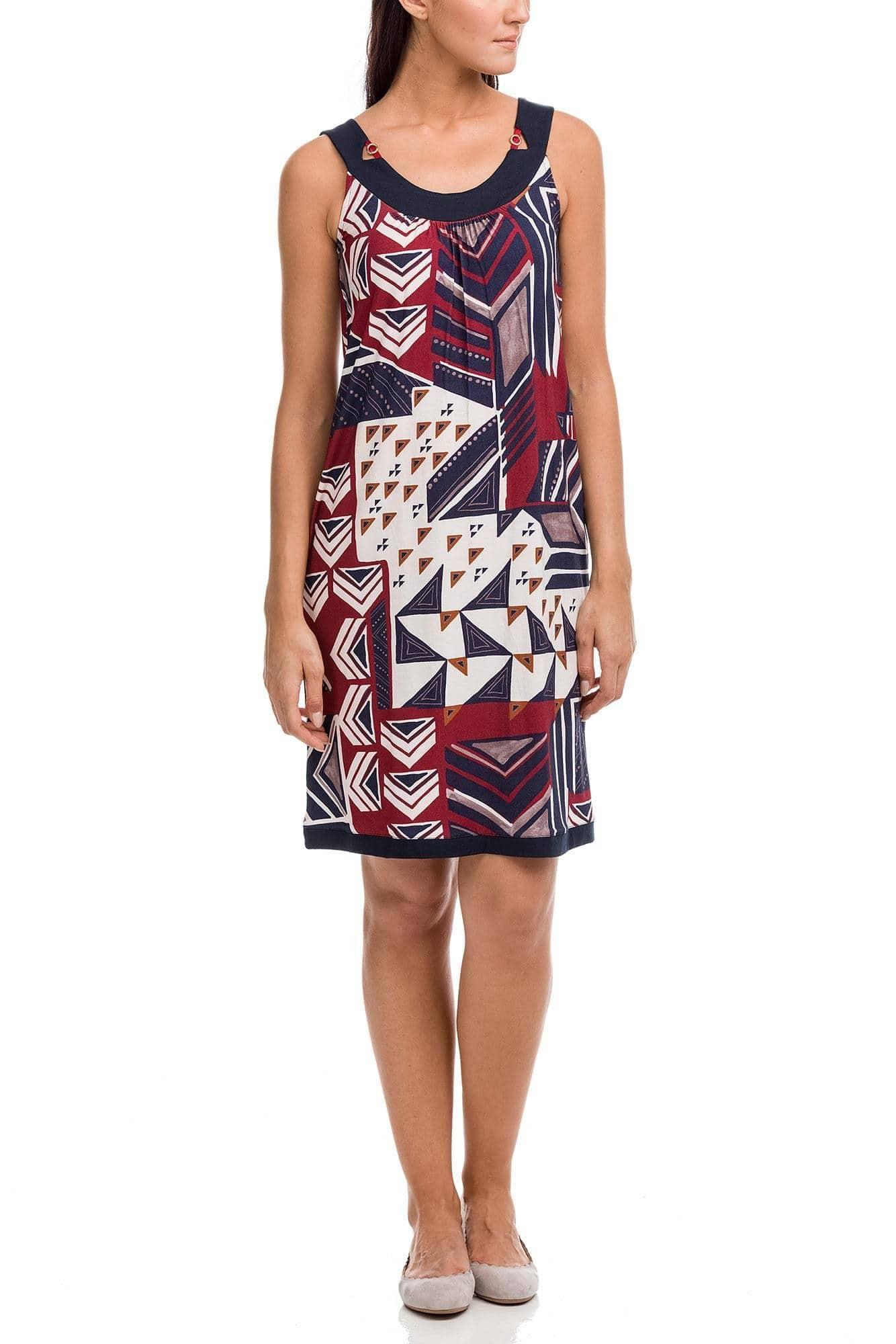 Φόρεμα Θαλάσσης Γεωμετρικό