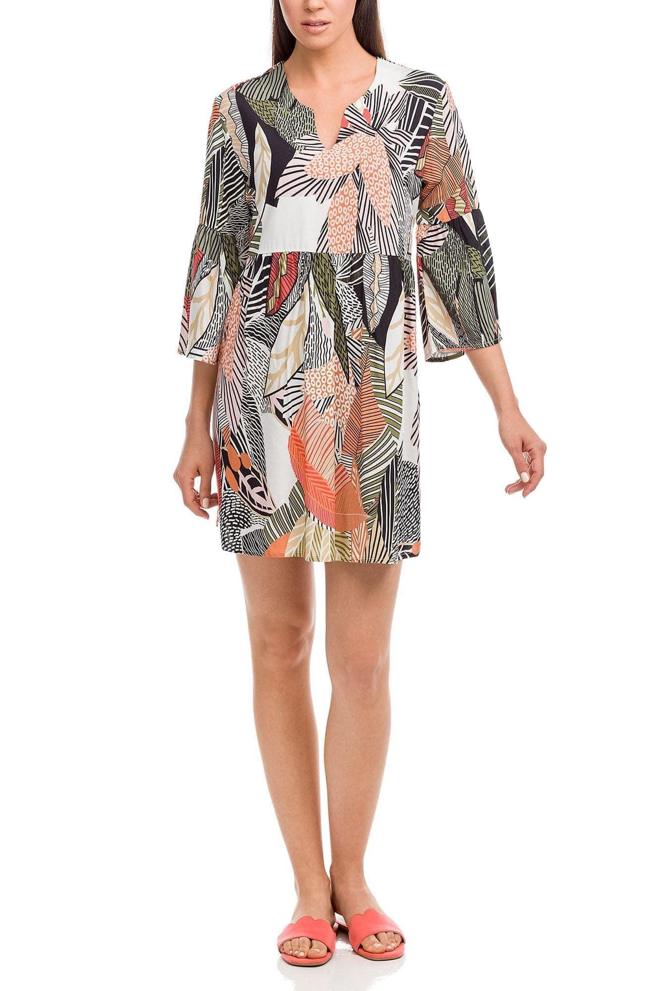 Μίνι Tropical Φόρεμα Παραλίας