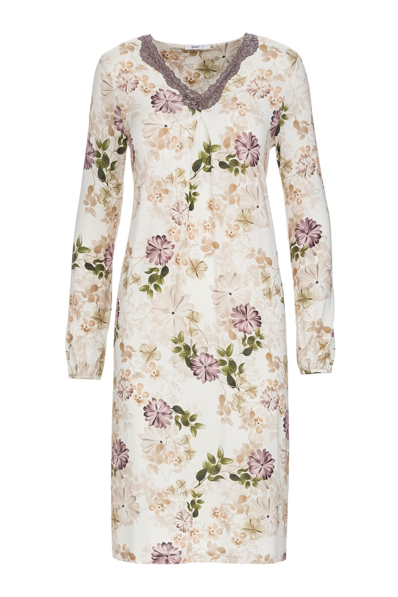 Women's Floral Nightgown