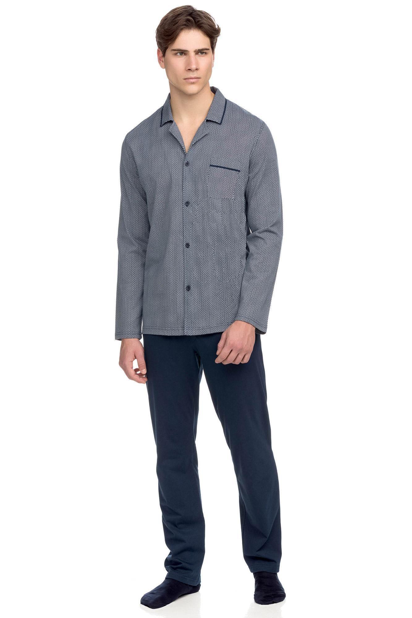 Men's Buttoned Pyjamas