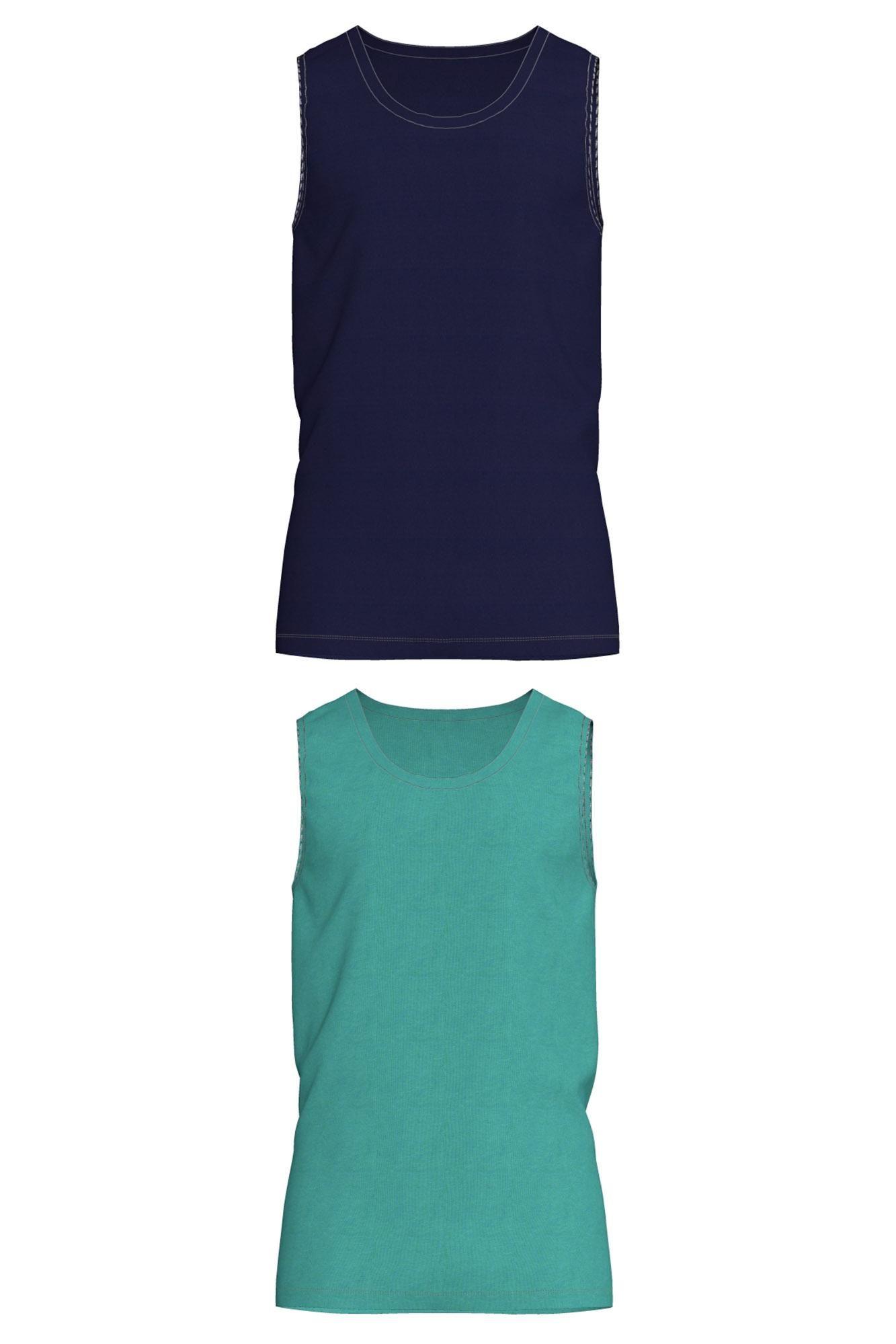 Men's 2 Pack Sleeveless Vests
