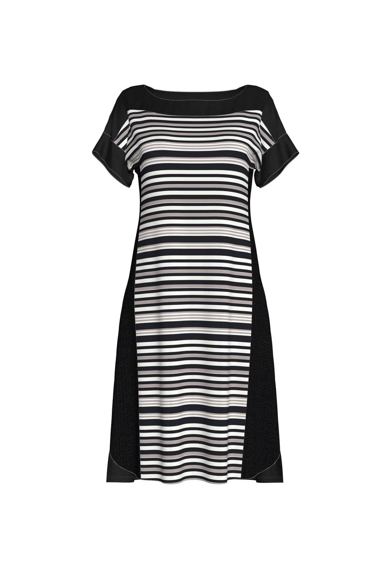 Γυναικείο Φόρεμα Παραλίας Ριγέ