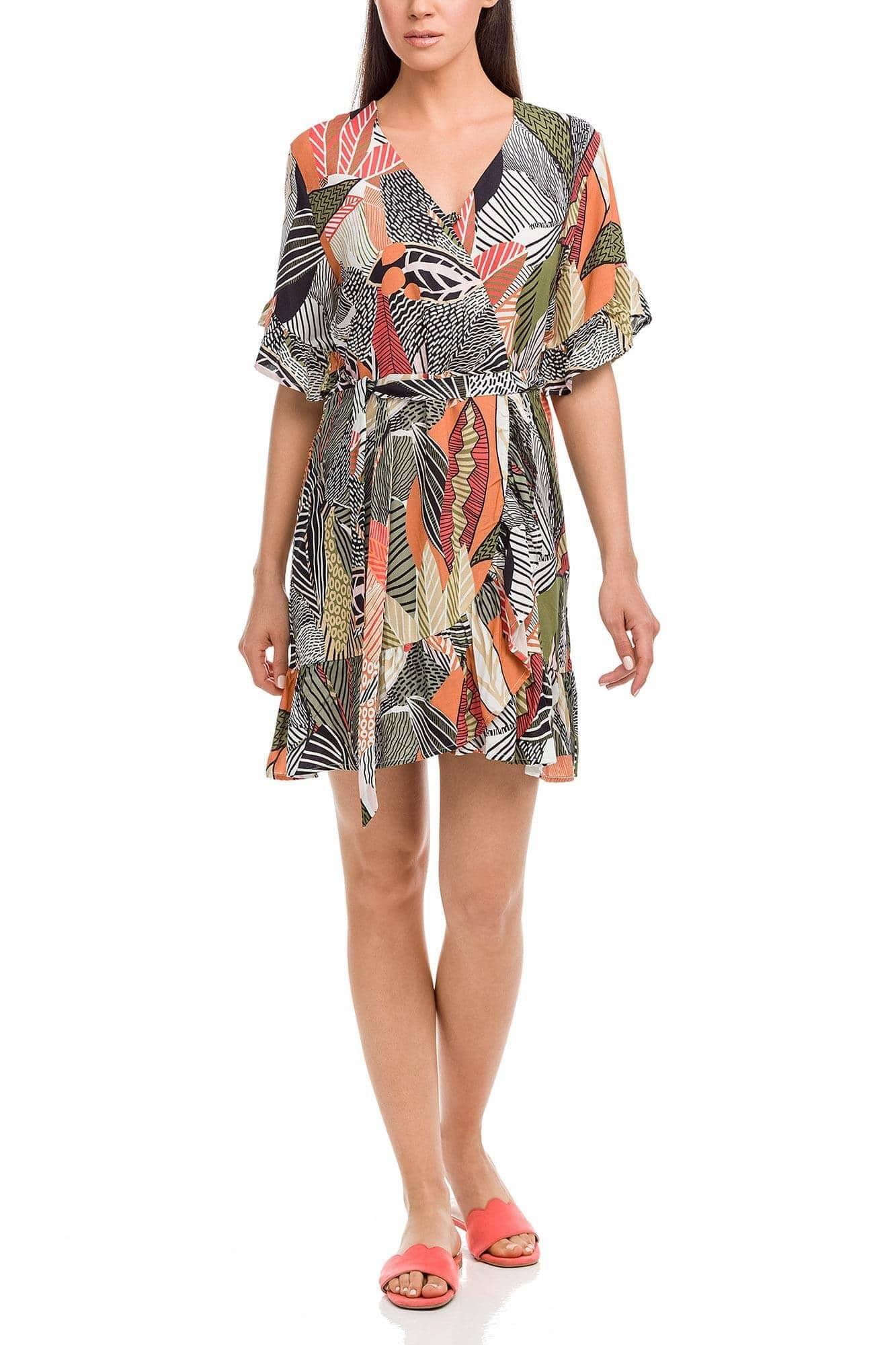 Φόρεμα Κρουαζέ Tropical