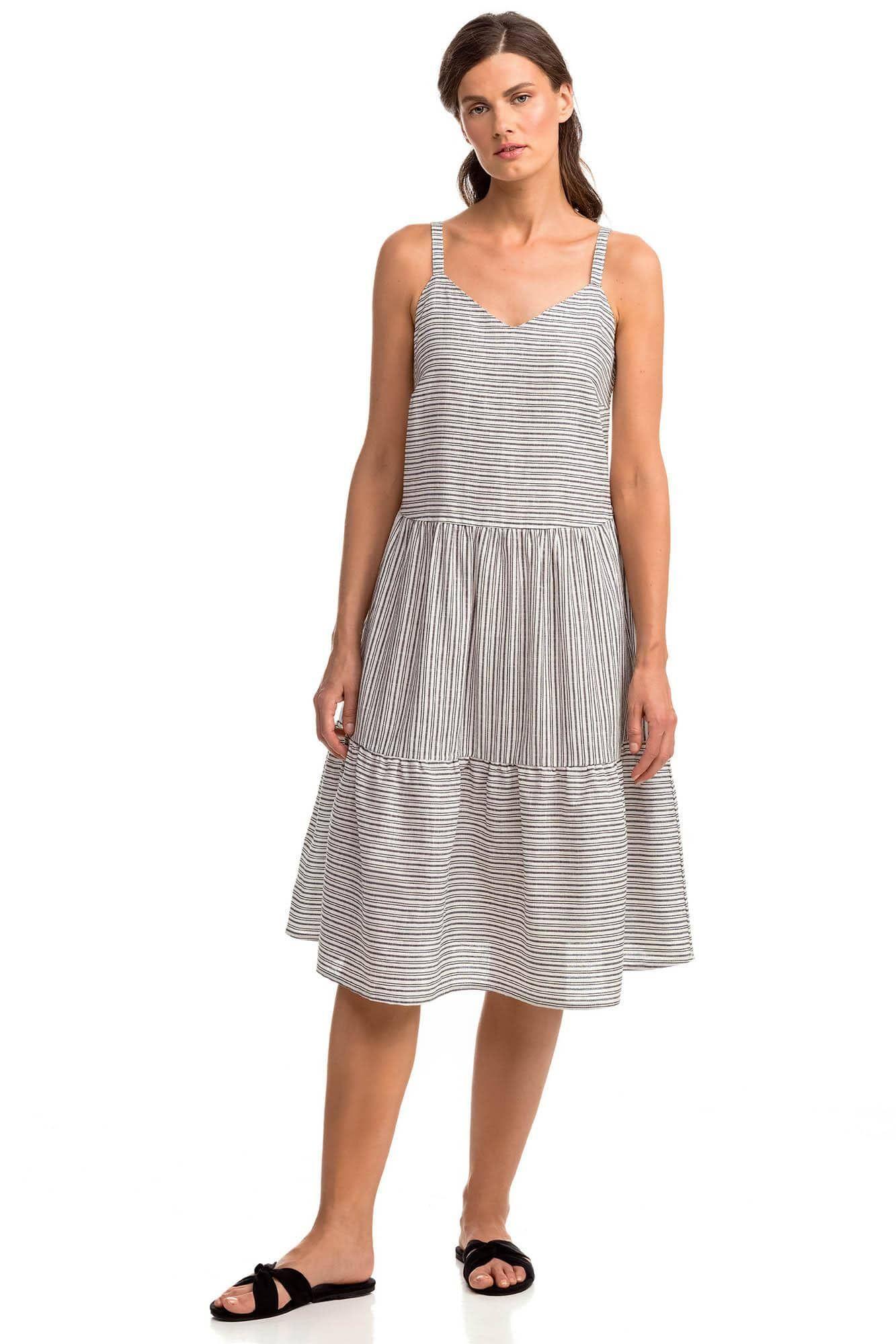 Φόρεμα Τιραντάκι από Λινή Ύφανση