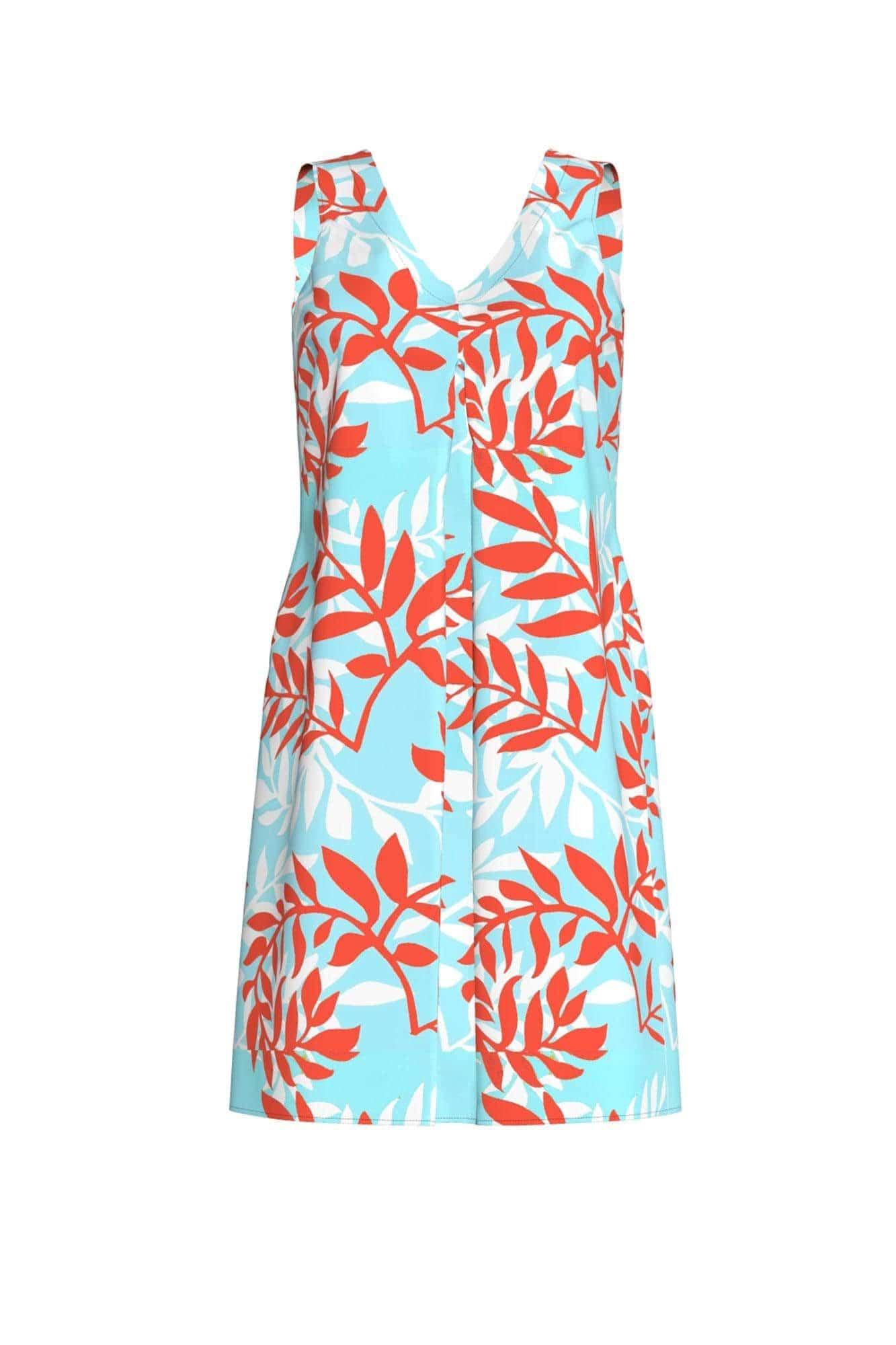 Γυναικείο Φόρεμα Παραλίας Tropical