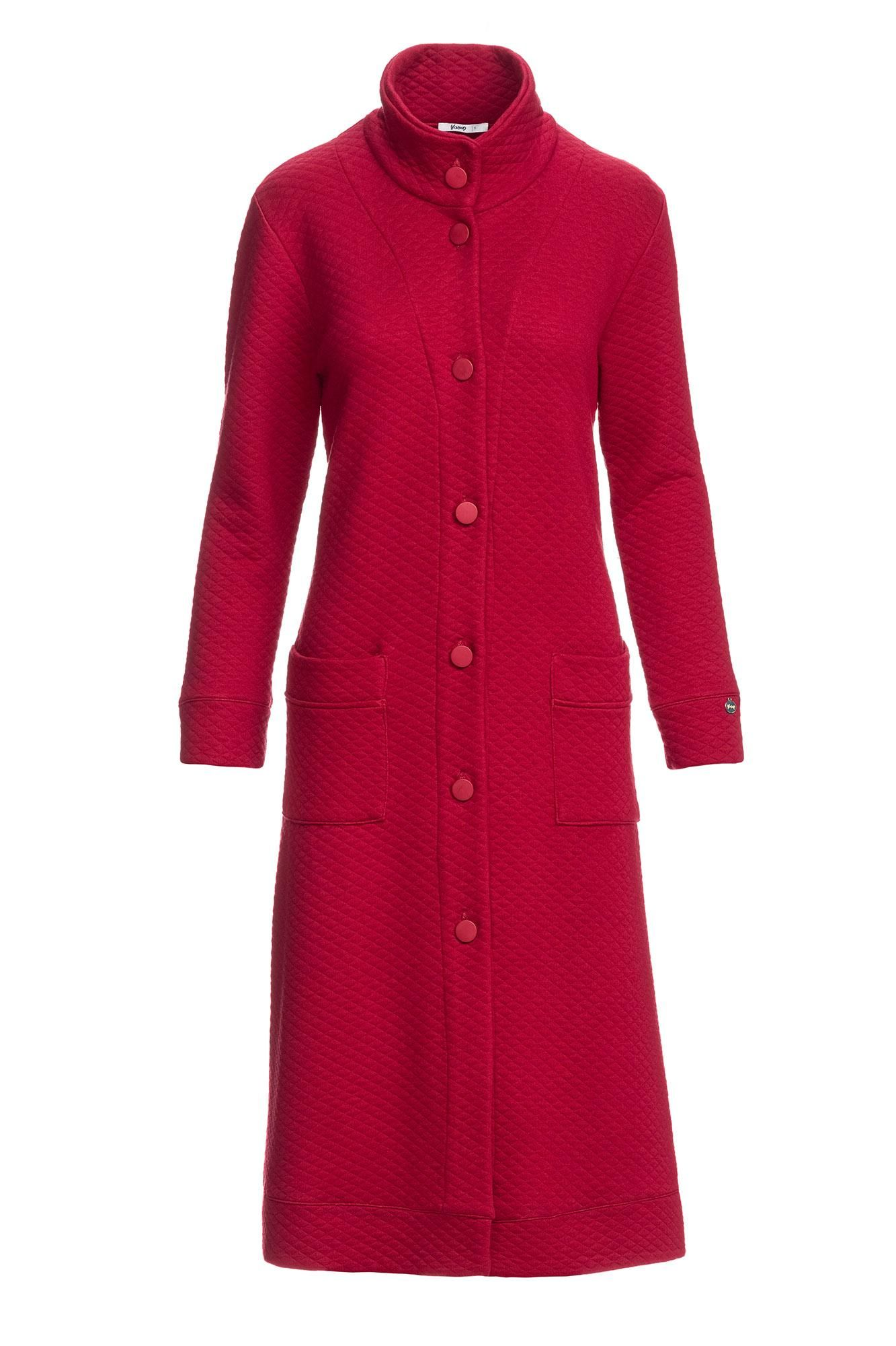 Women's Jacquard Buttoned Robe