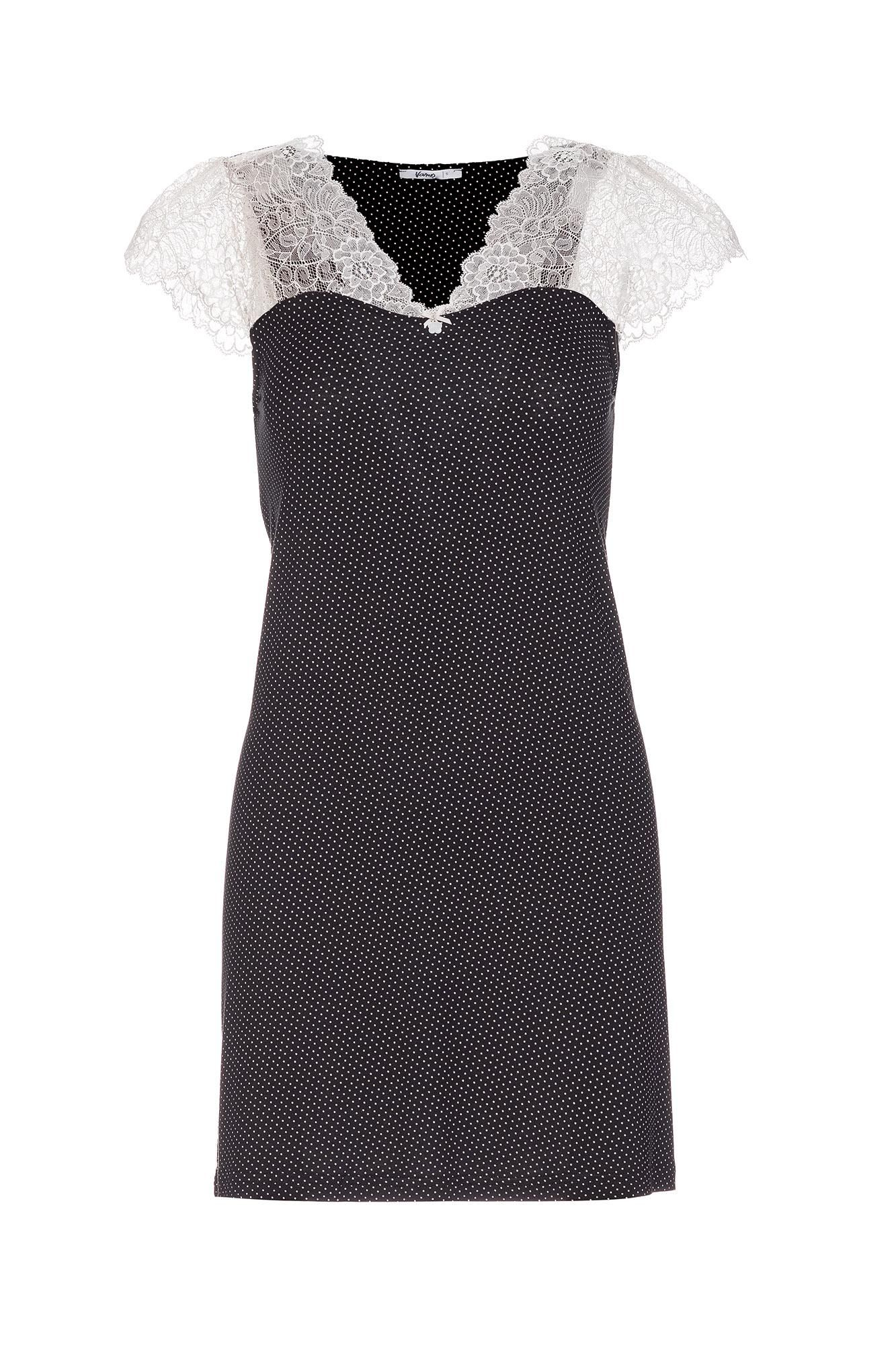 Women's Polka Dot Nightgown