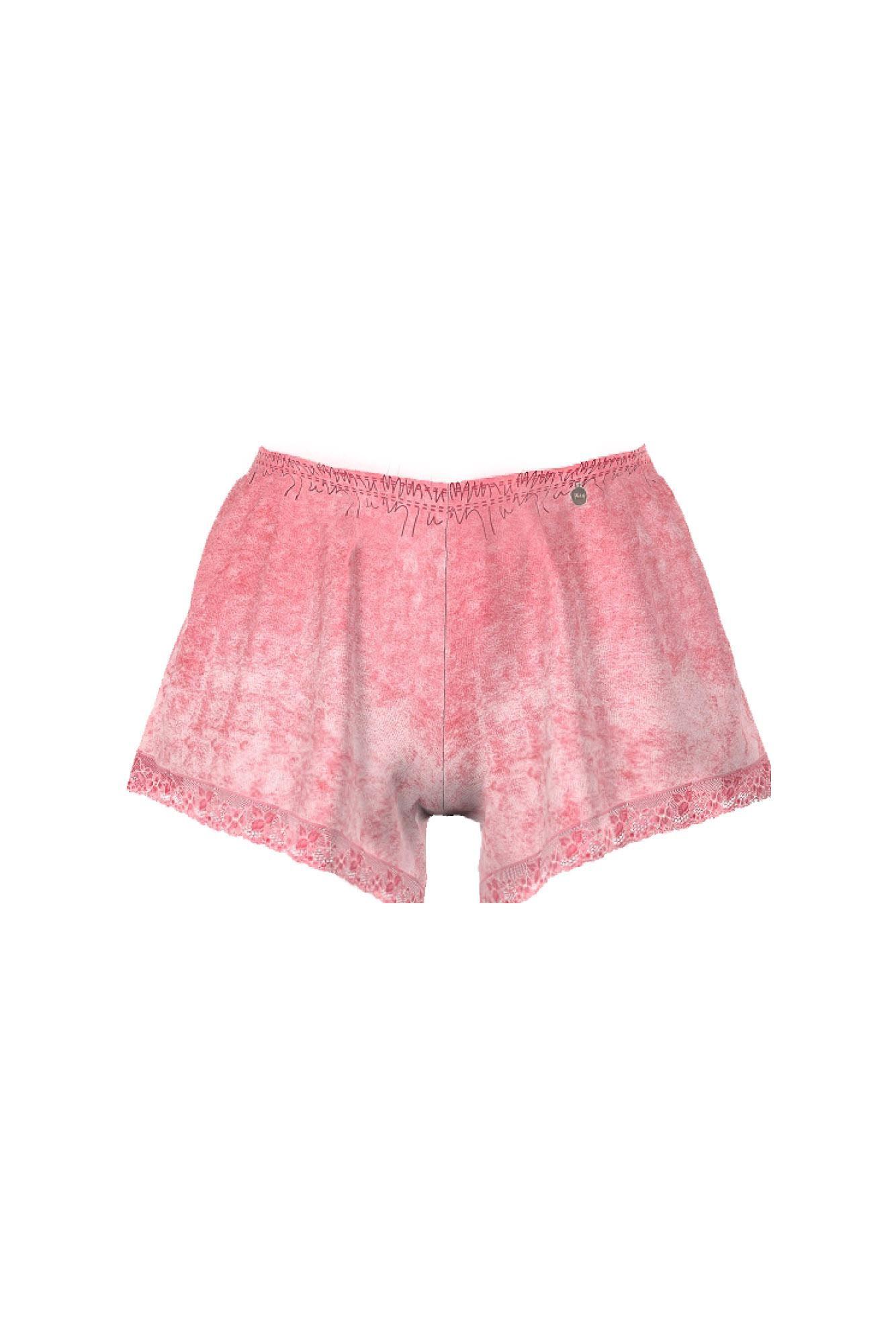 Women's Velour Shorts