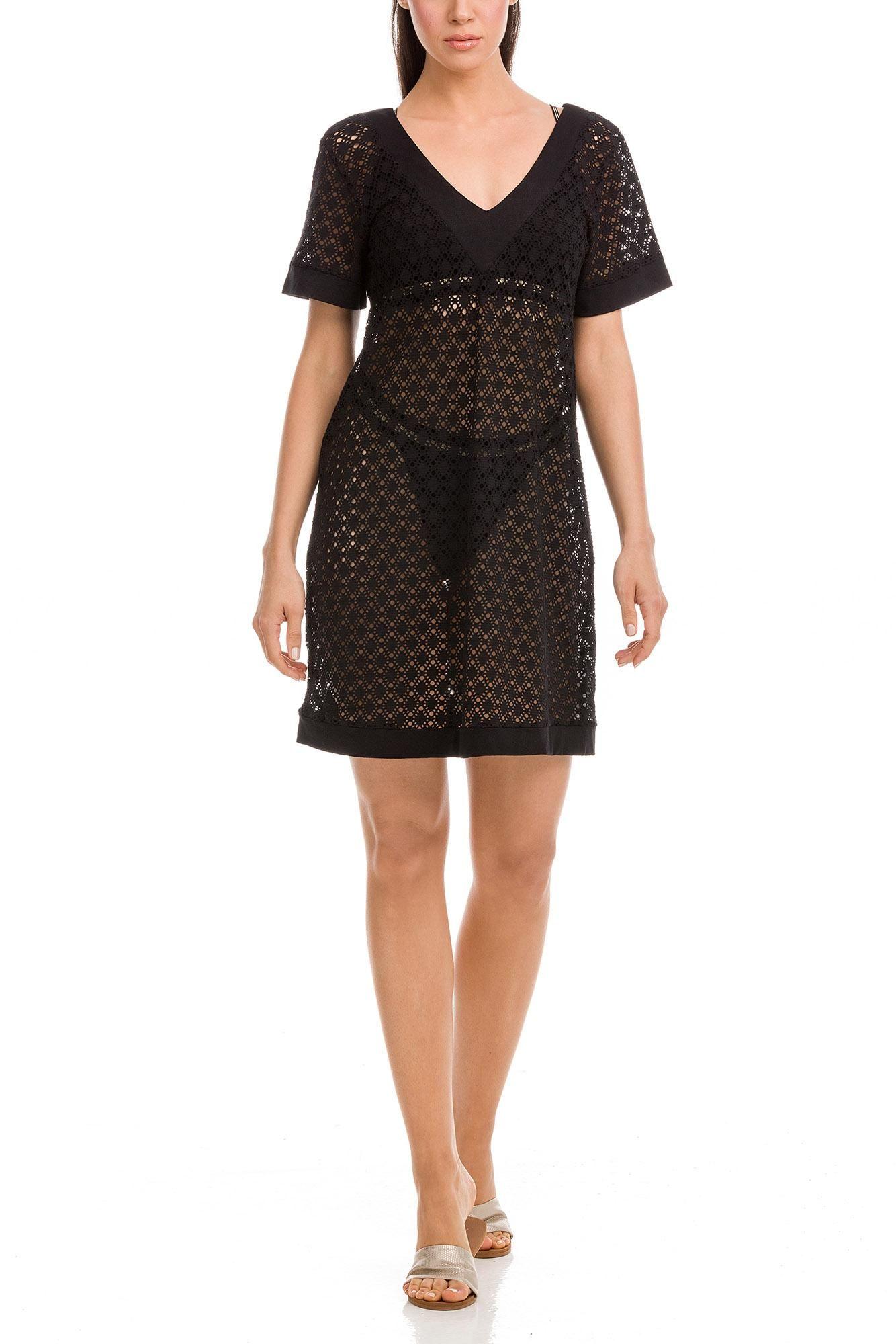 Φόρεμα Θαλάσσης Κοντό Ζακάρ