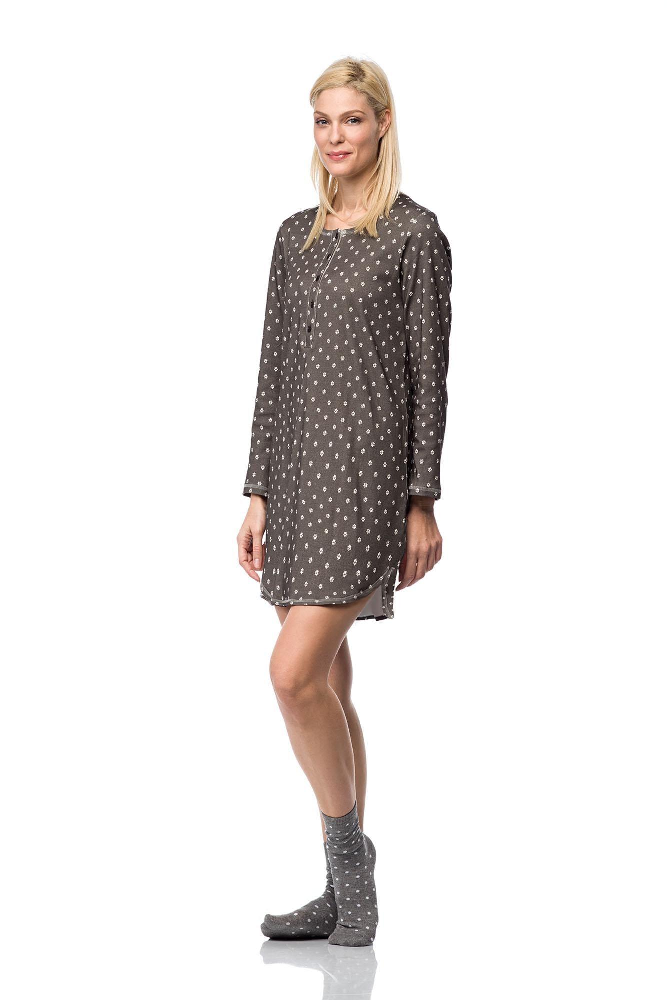 Women's Printed Nursing Nightgown