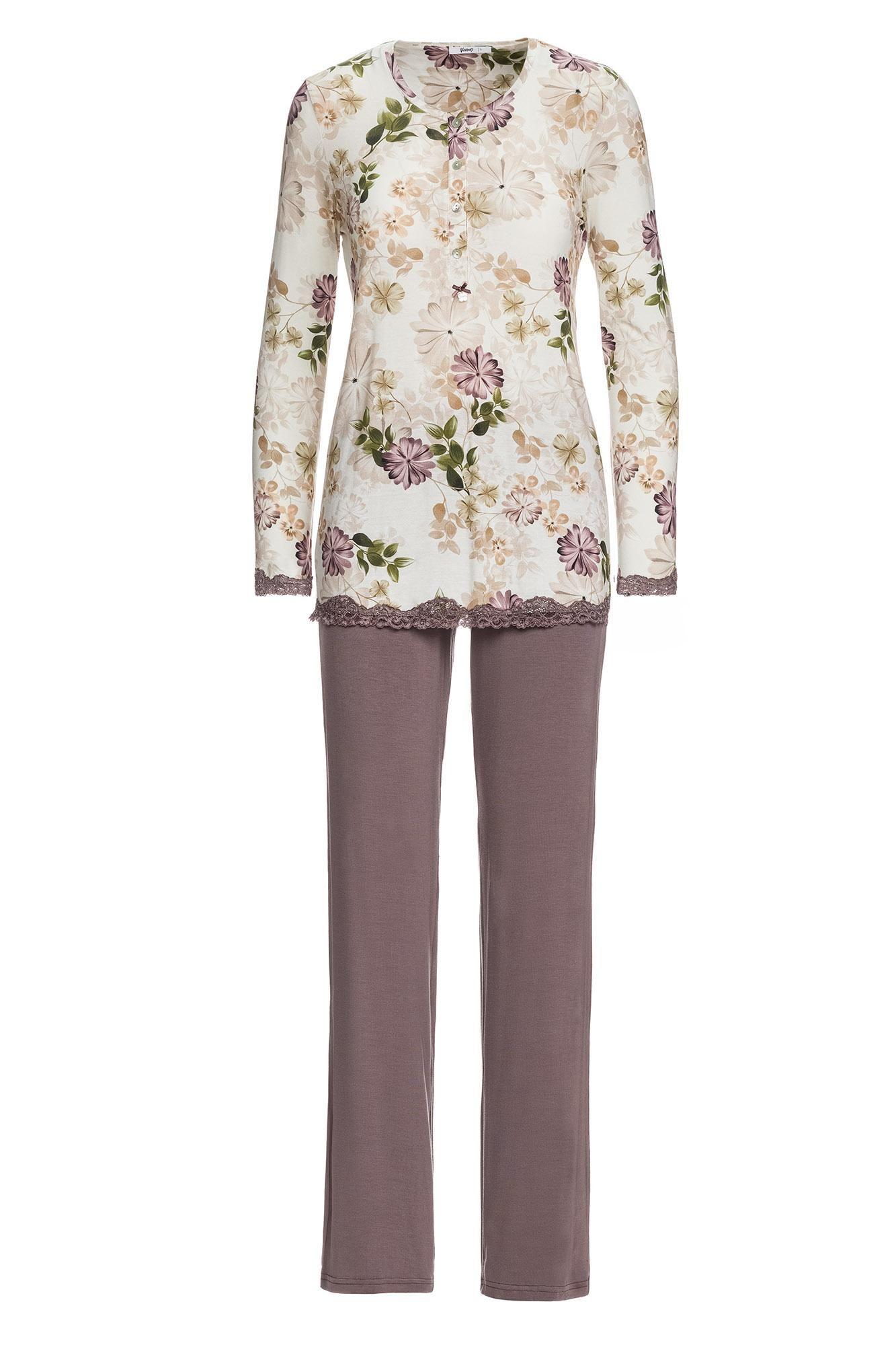 Women's Floral Maternity Pyjamas Plus Size