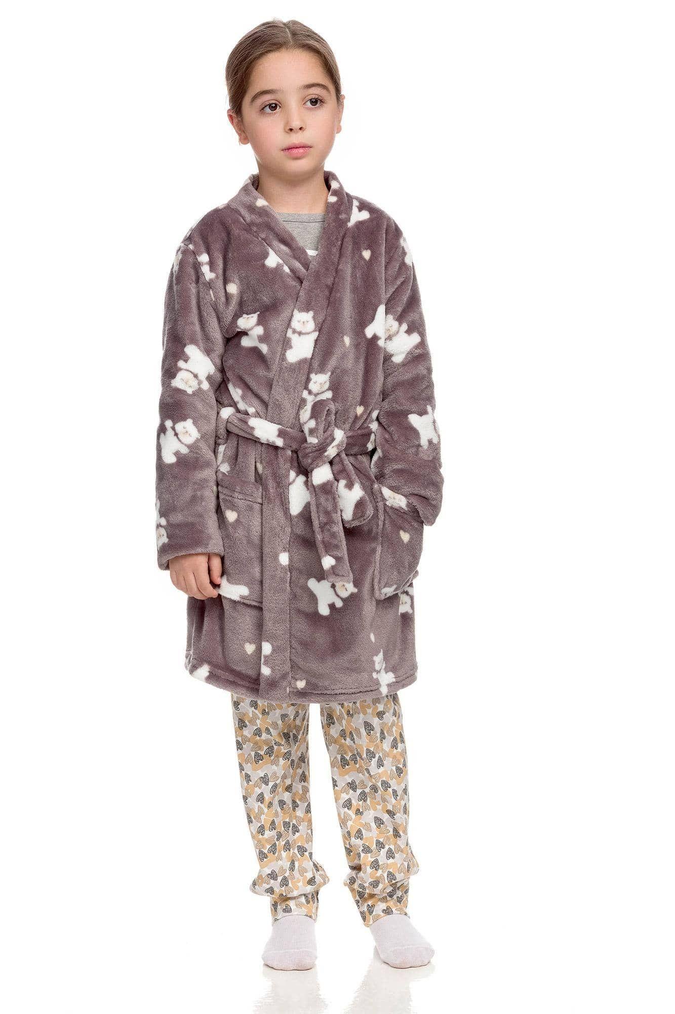 Kids Fleece Robe