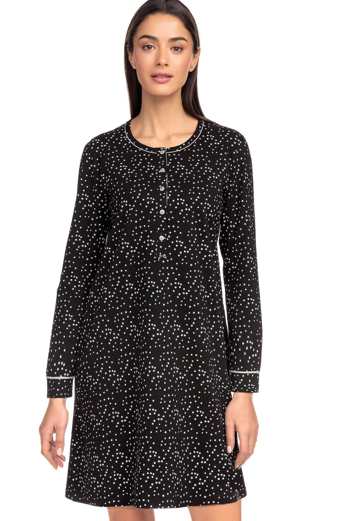 Women's Nightgown with stars