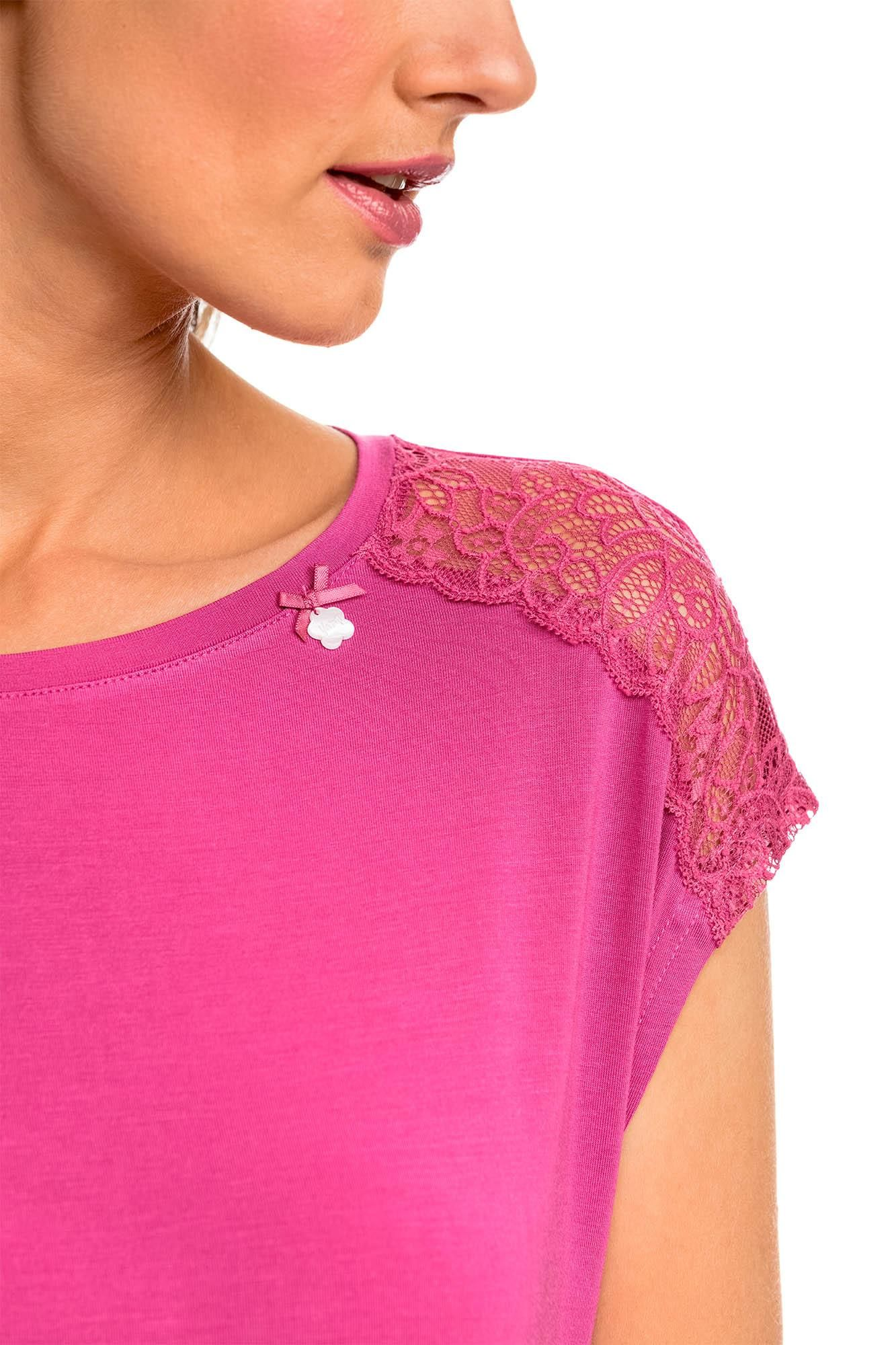 Nightgown with Lace Details