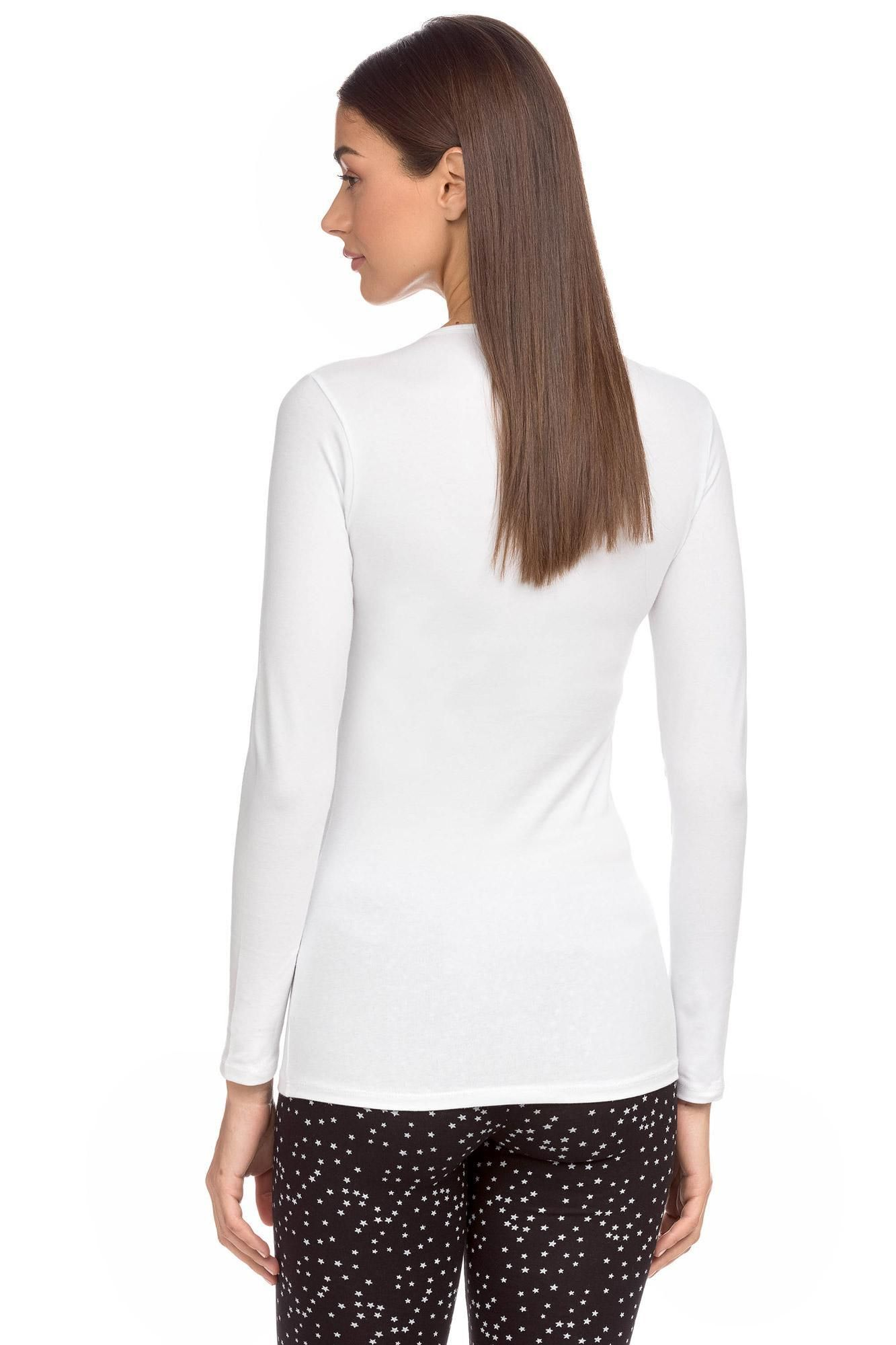 Women's vest with long sleeves