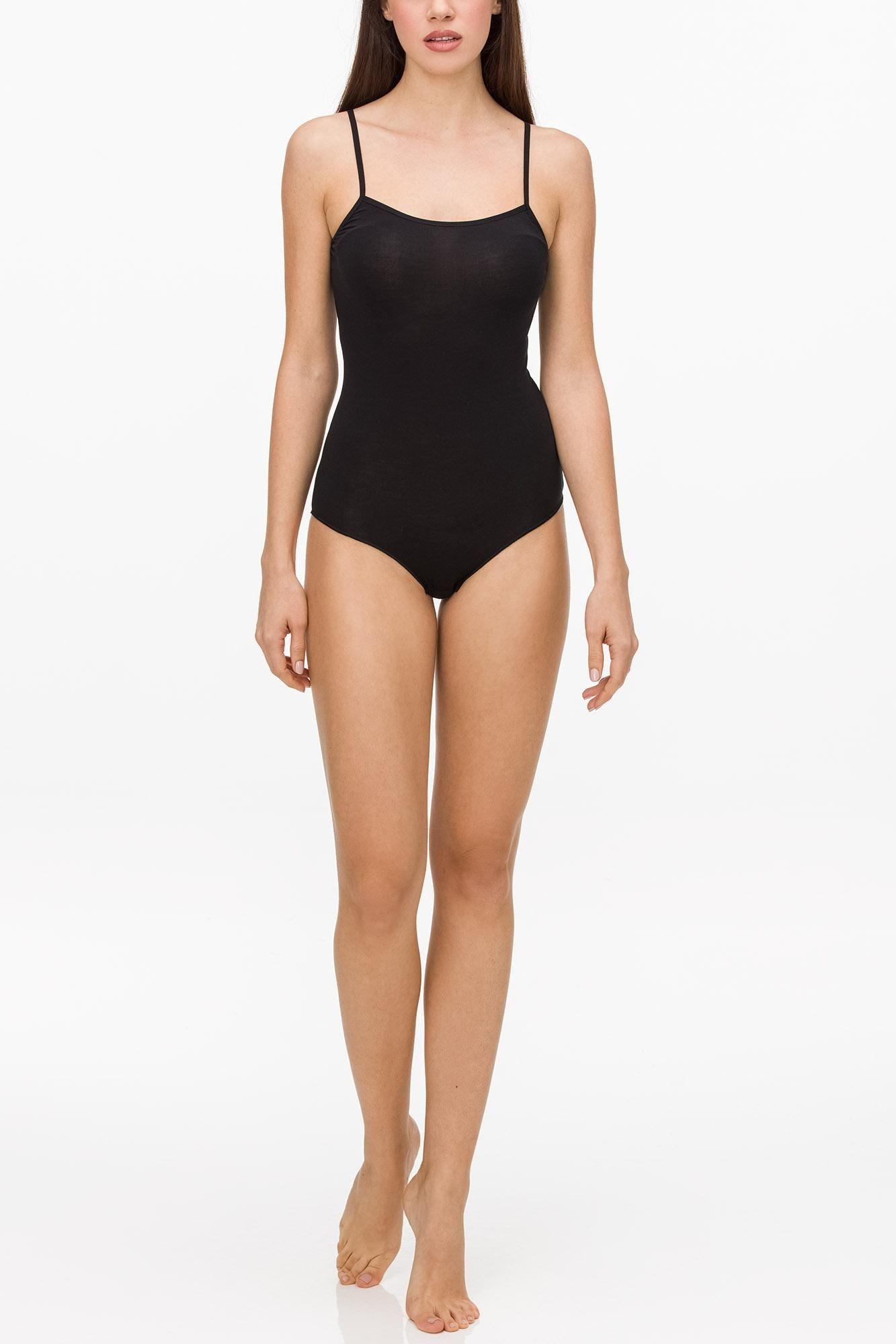 Women's Sleeveless Cotton Bodysuit
