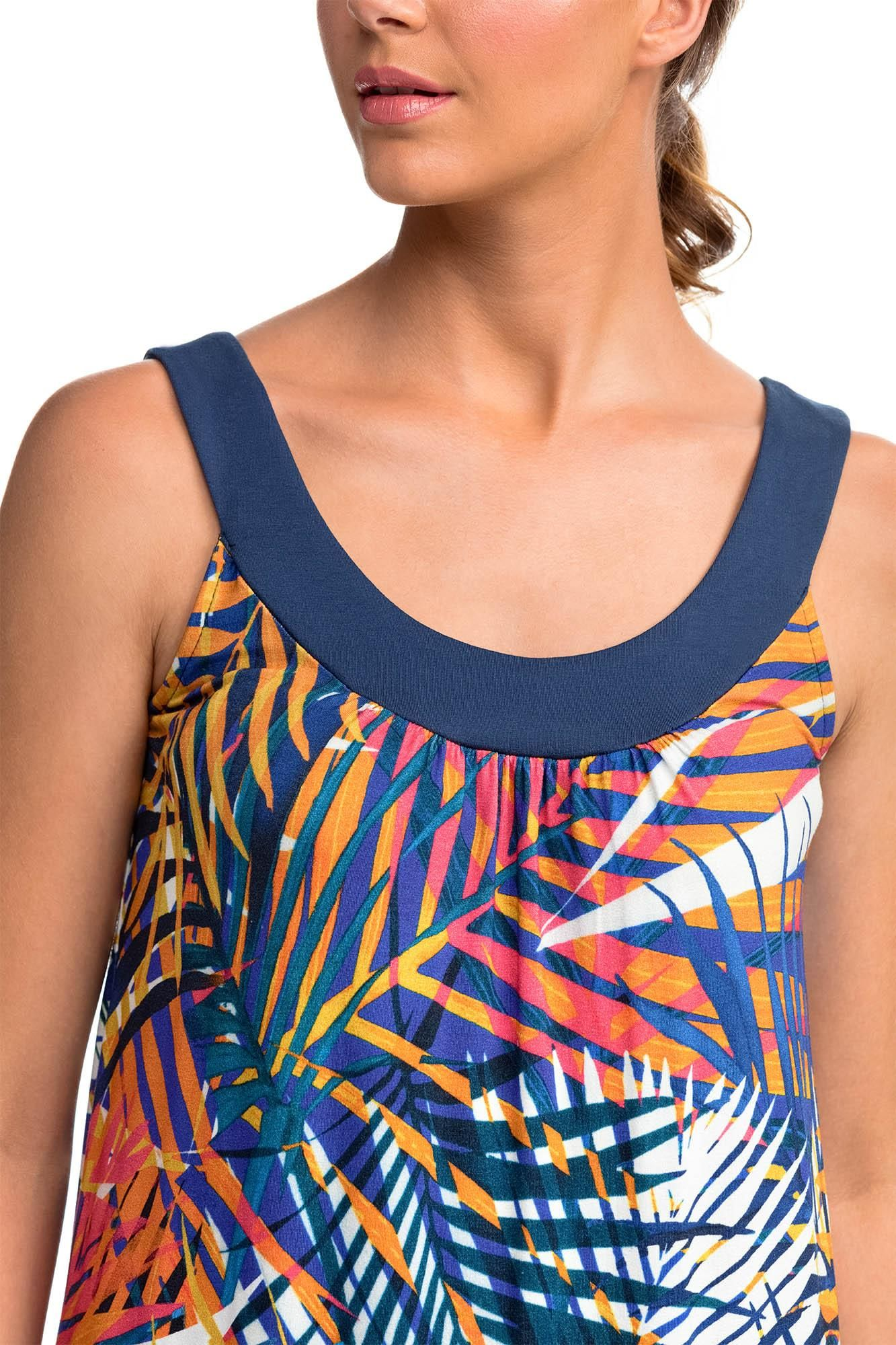 Αμάνικο Φόρεμα Tropical