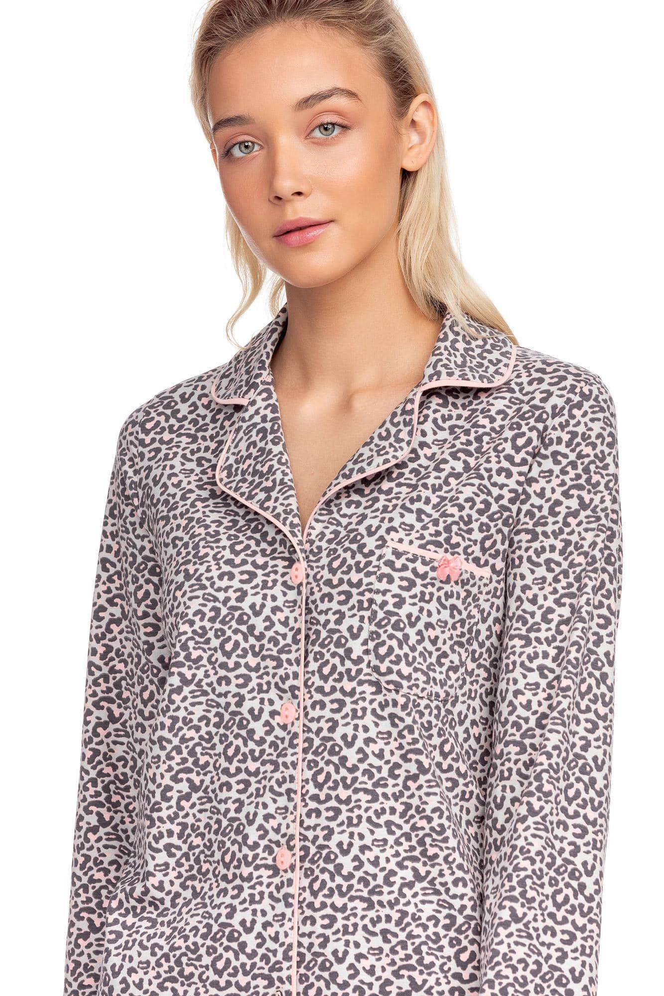 Γυναικείο νυχτικό τύπου μακρύ πουκάμισο