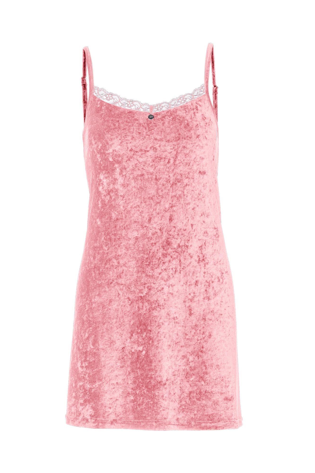 Women's Velour Sleeveless Nightgown