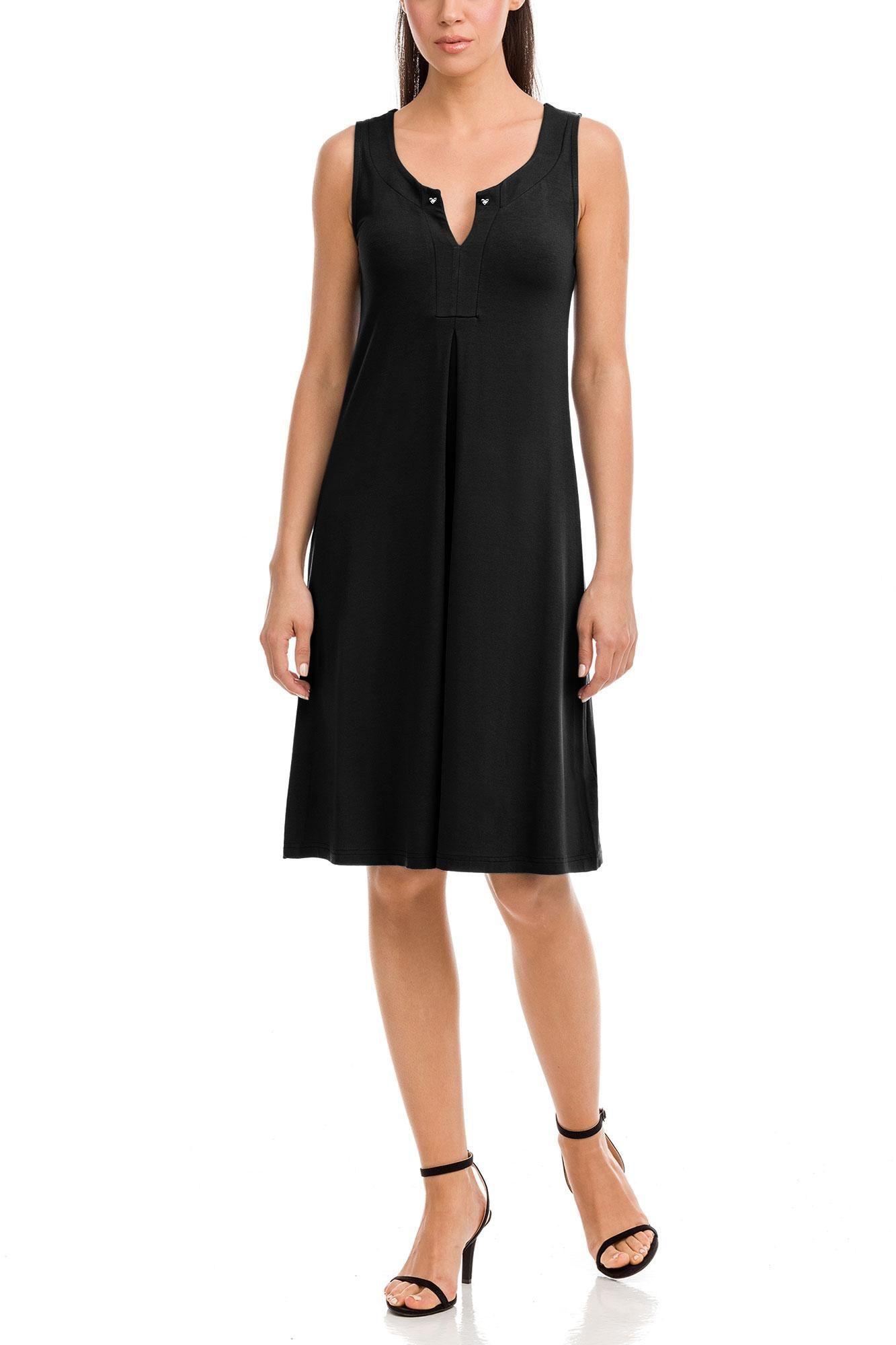 Φόρεμα Μονόχρωμο Plus Size
