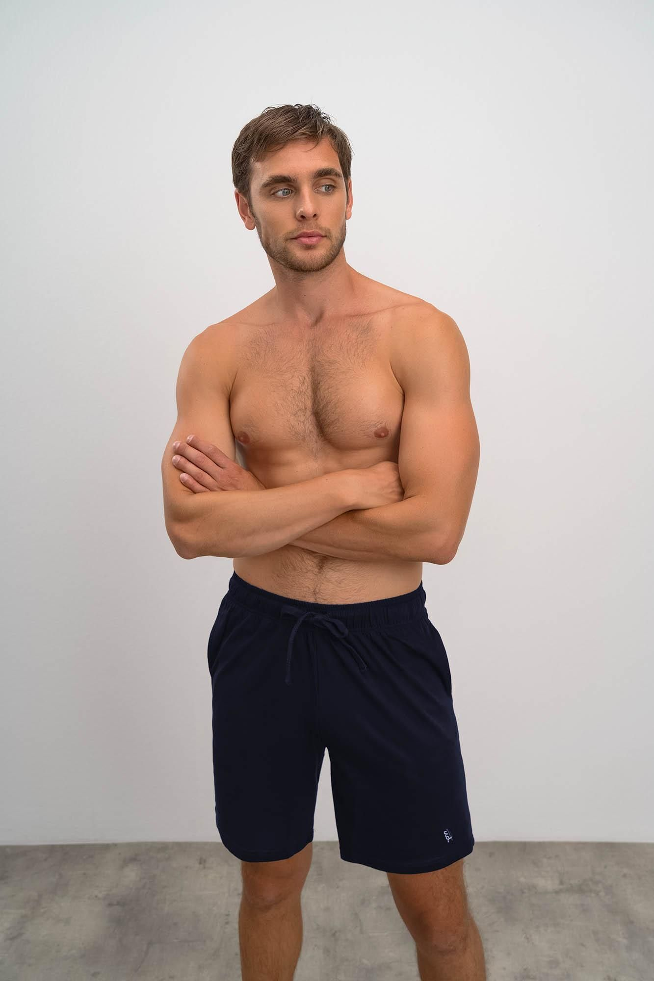 Men's Sweatshirt Bermuda Pants