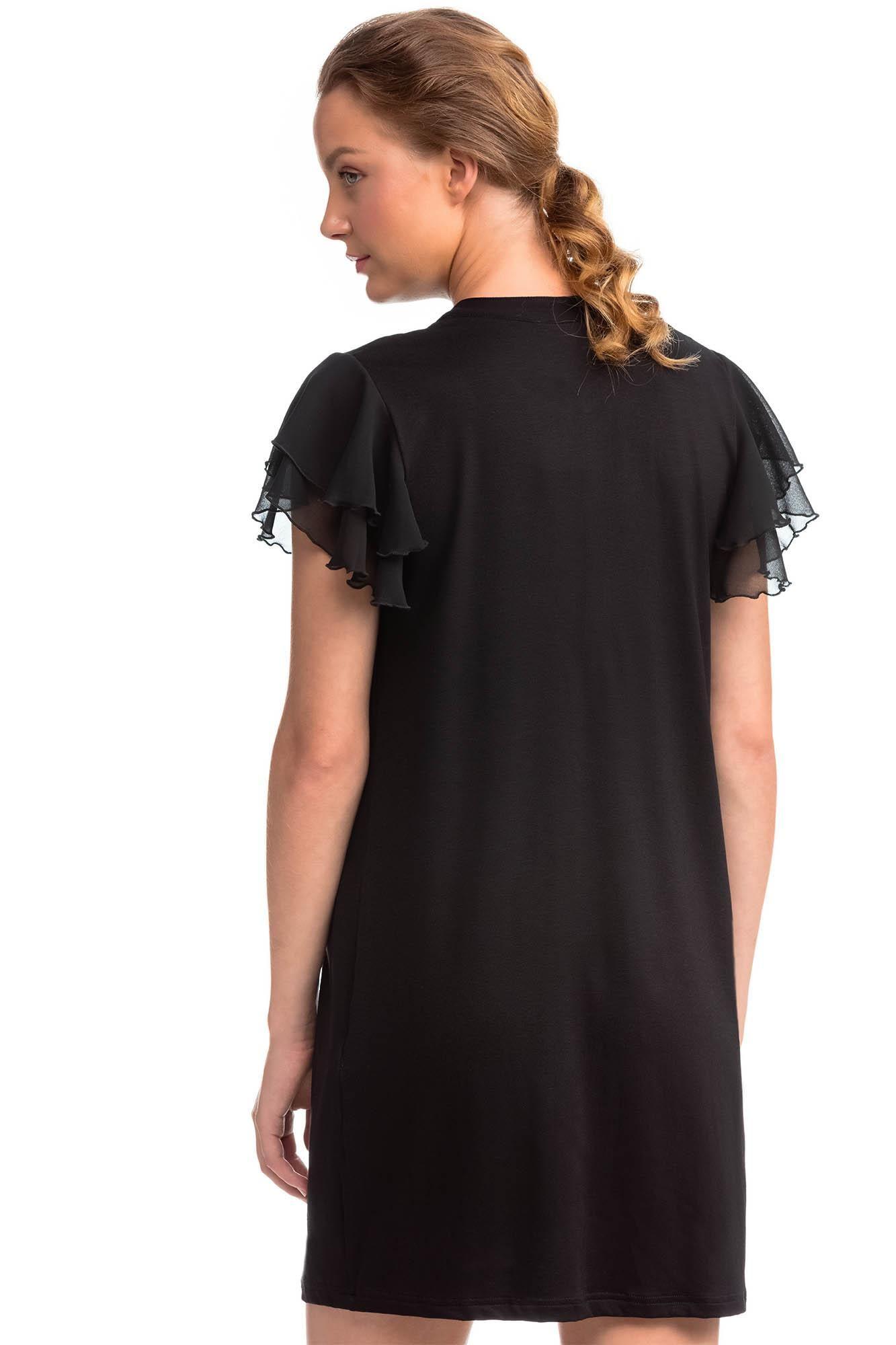 Φόρεμα με Σιφόν Μανίκι