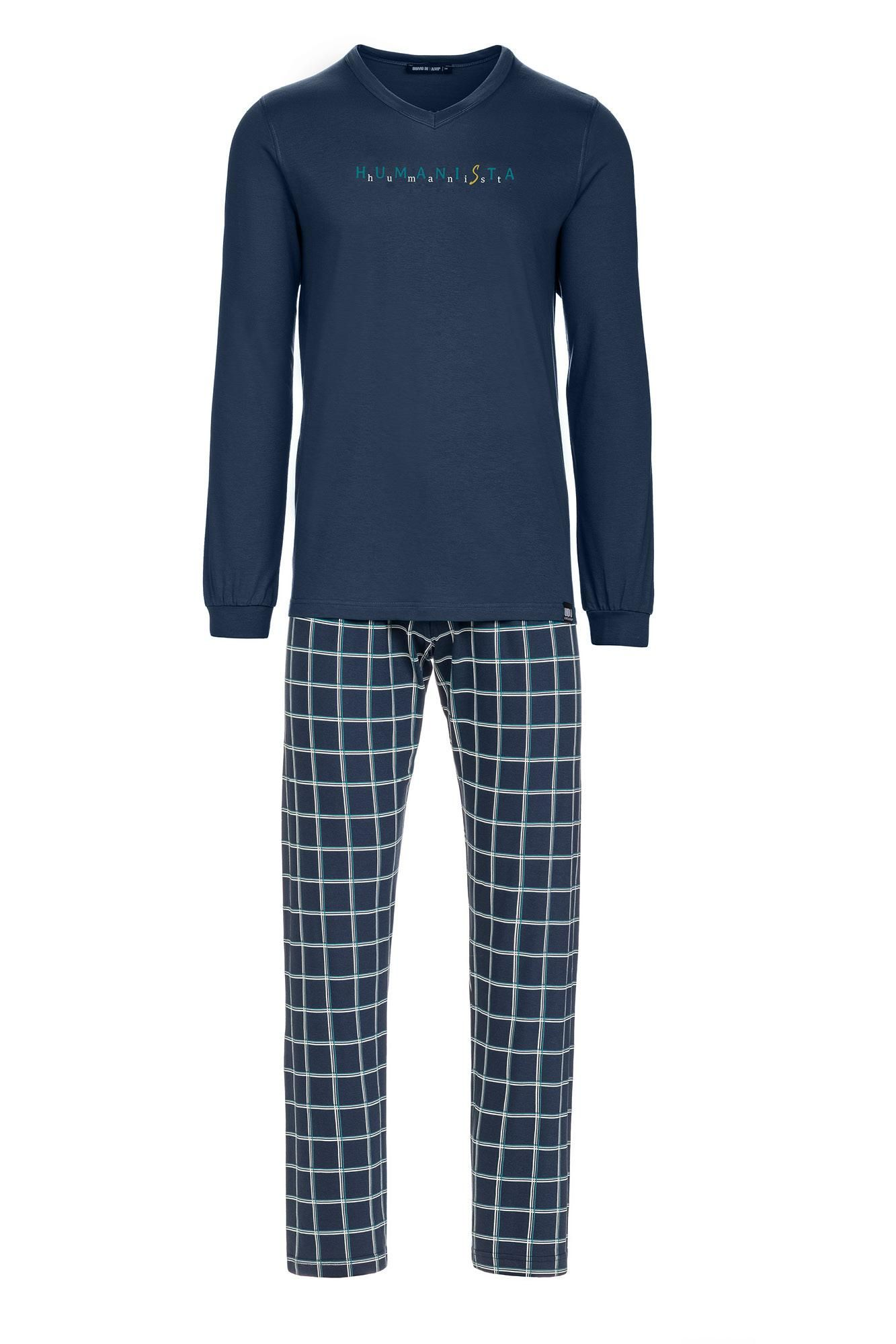 Men's Plaid Pyjamas Plus Size