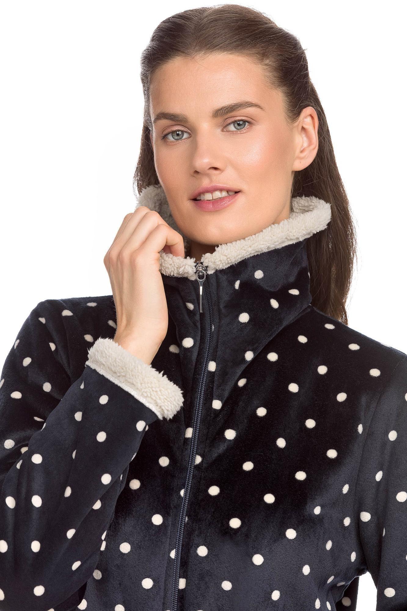 Women's Fleece zipped Robe