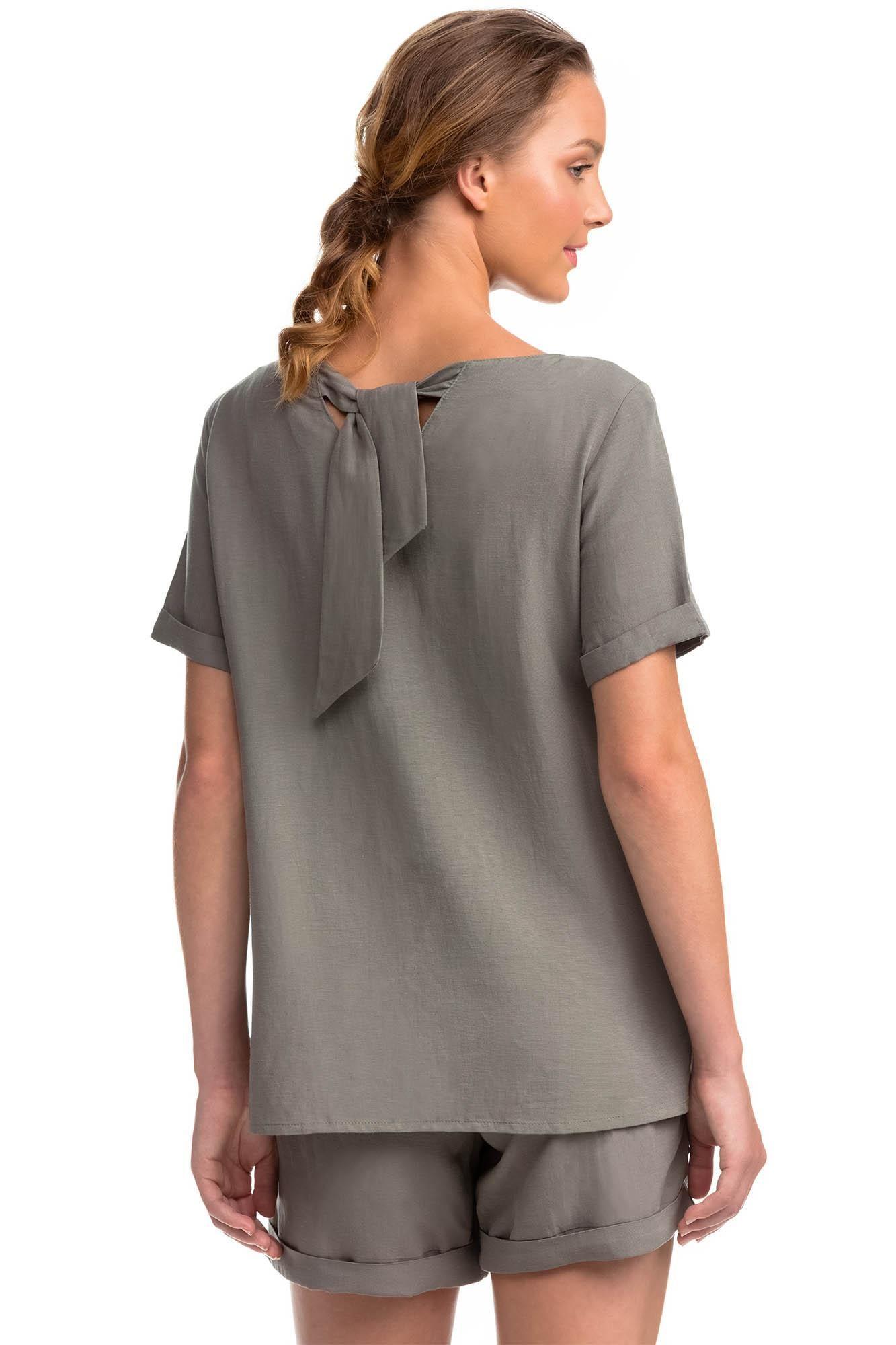 Γυναικεία Λινή Μπλούζα