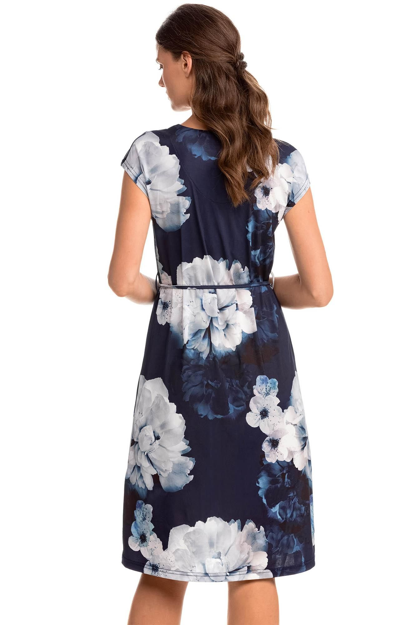 Φόρεμα Φλοράλ με Ζωνάκι