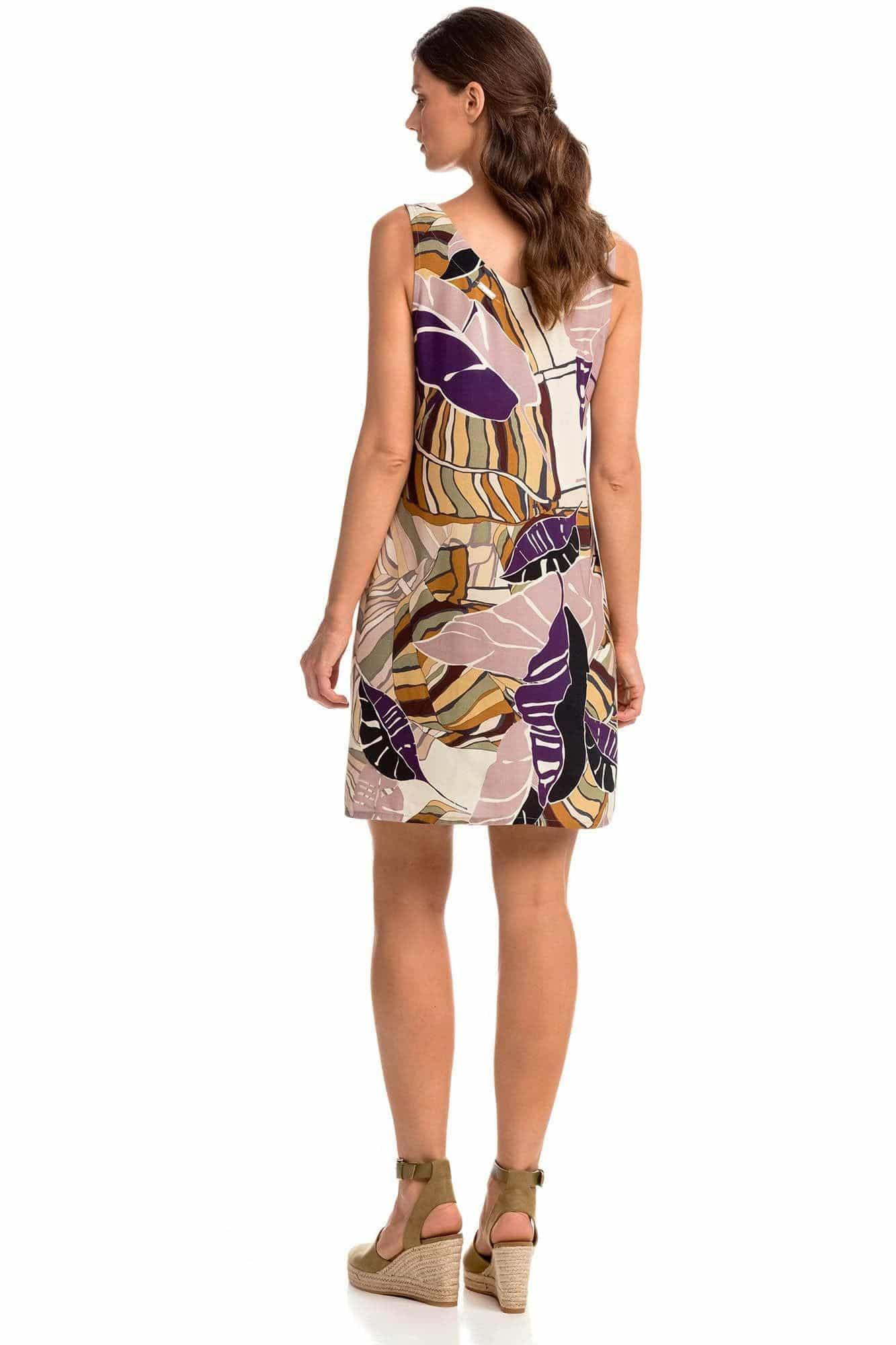 Γυναικείο Φόρεμα Εμπριμέ