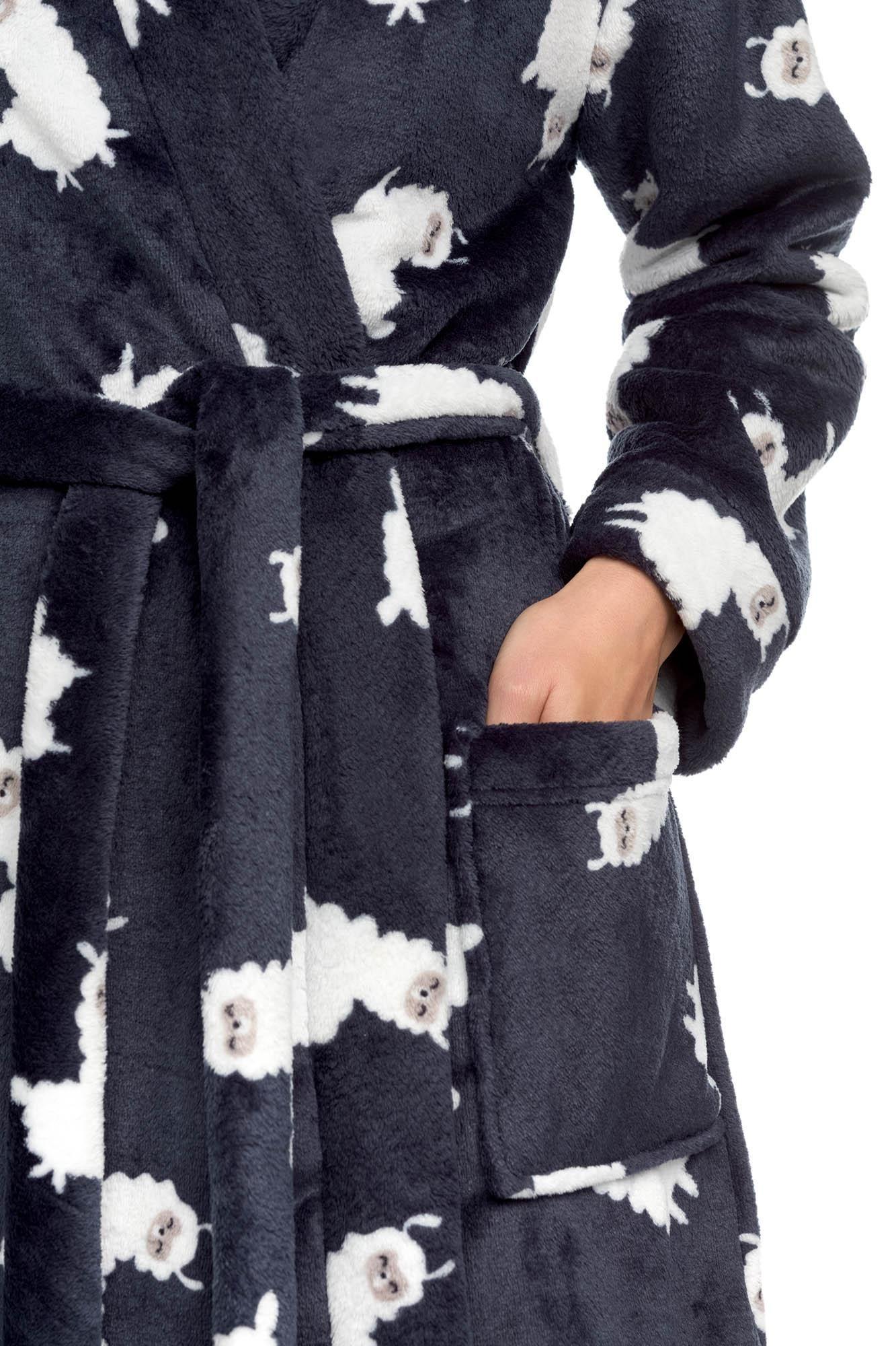 """Women's Fleece Robe """"Lama"""""""